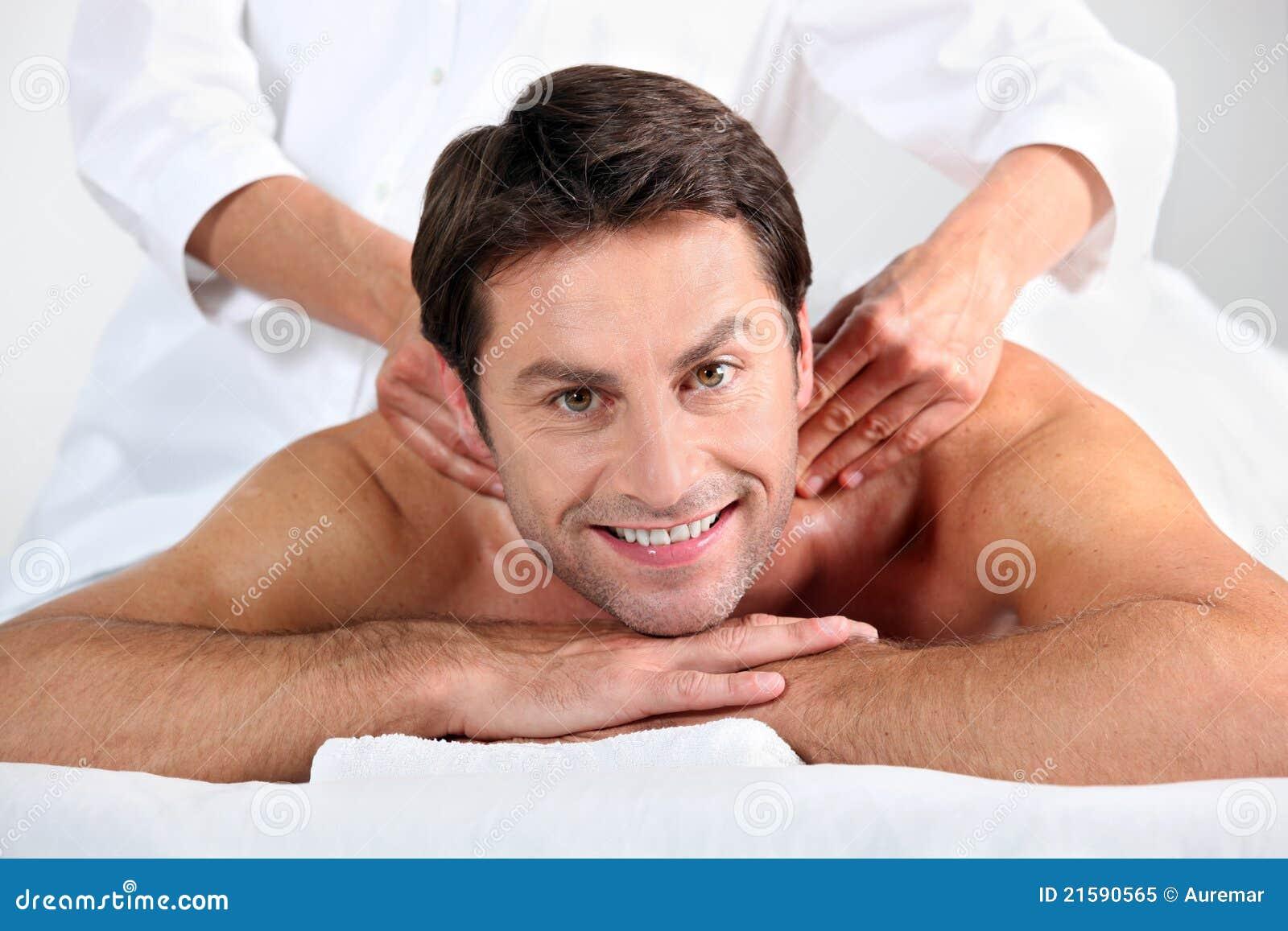 Back Massage Man