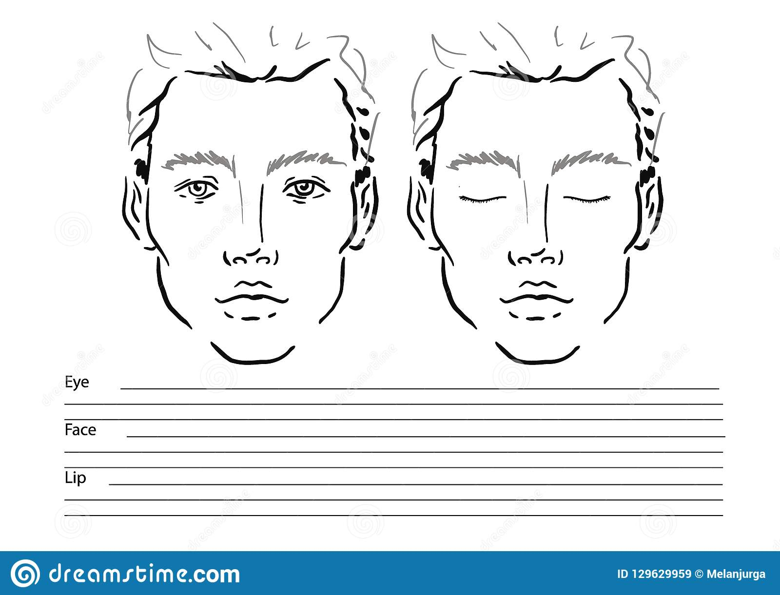 Blank Face Diagram Botox – HD Wallpapers