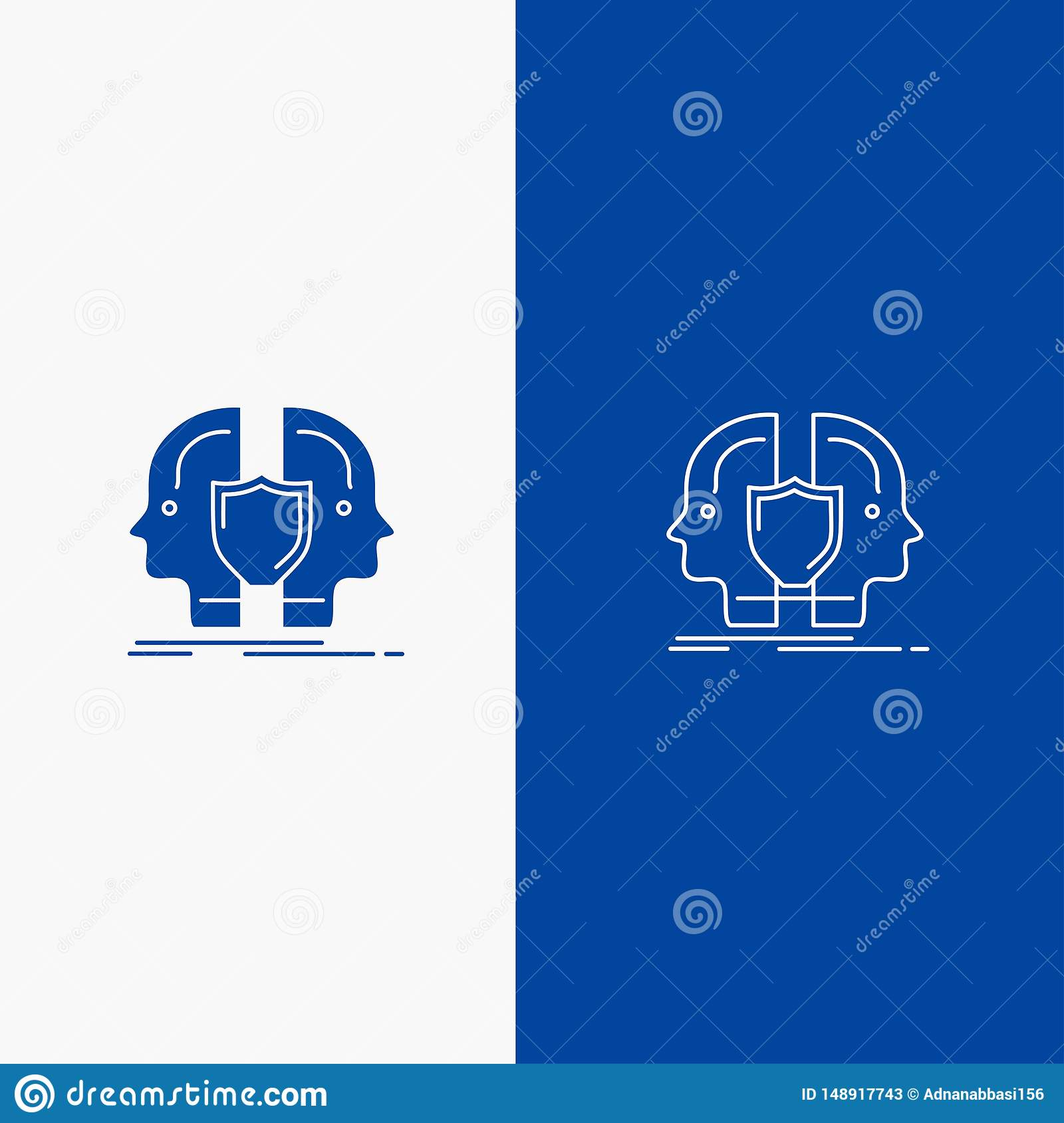 dual identity stock illustrations 504 dual identity stock illustrations vectors clipart dreamstime https www dreamstime com man face dual identity shield line glyph solid icon blue banner image148917743