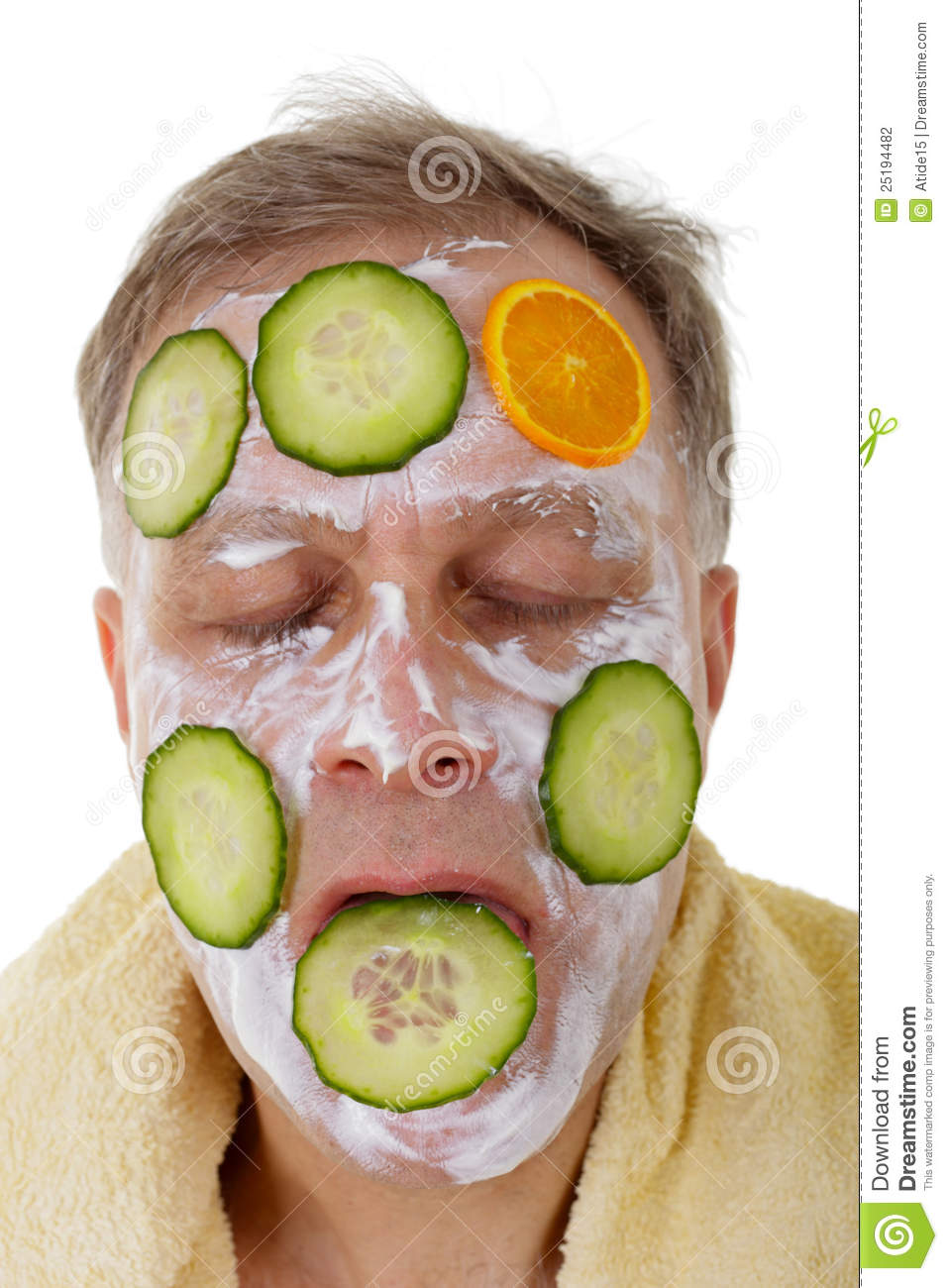 Other variant cucumber facial masks All above