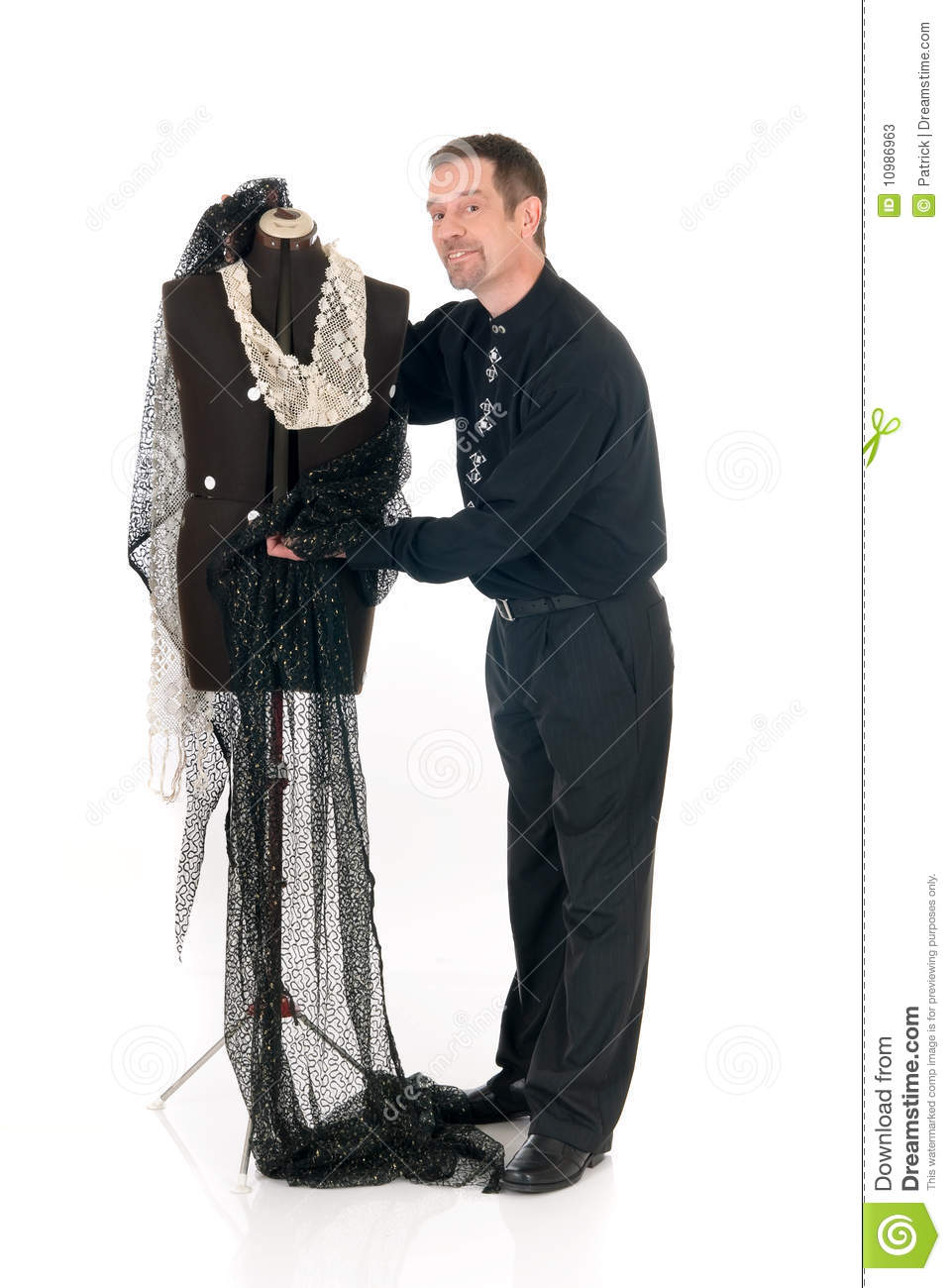 3d Man With Mannequin Stock Photo Male Models Picture