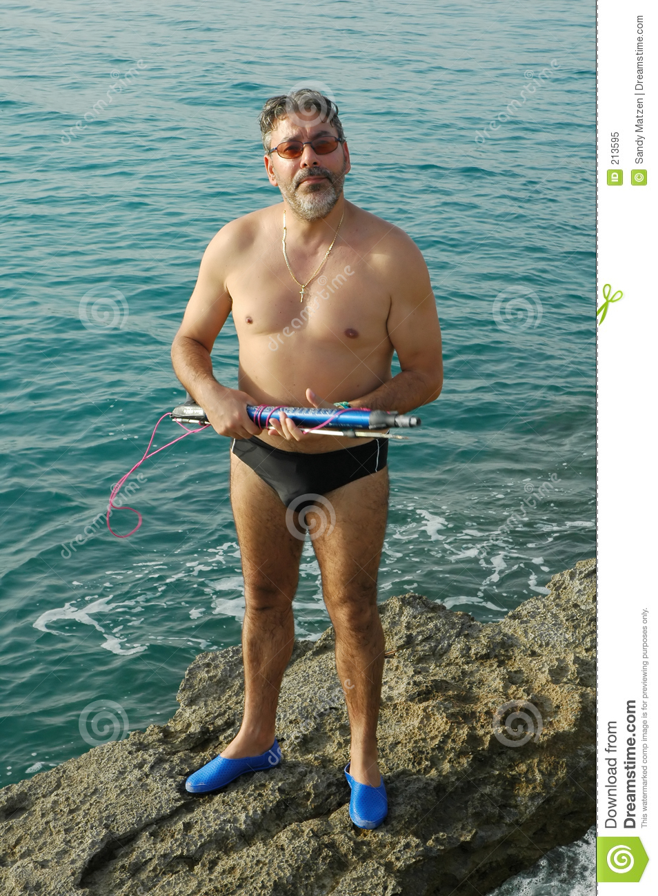 Spear Fishing Stock Photos - GoGraph