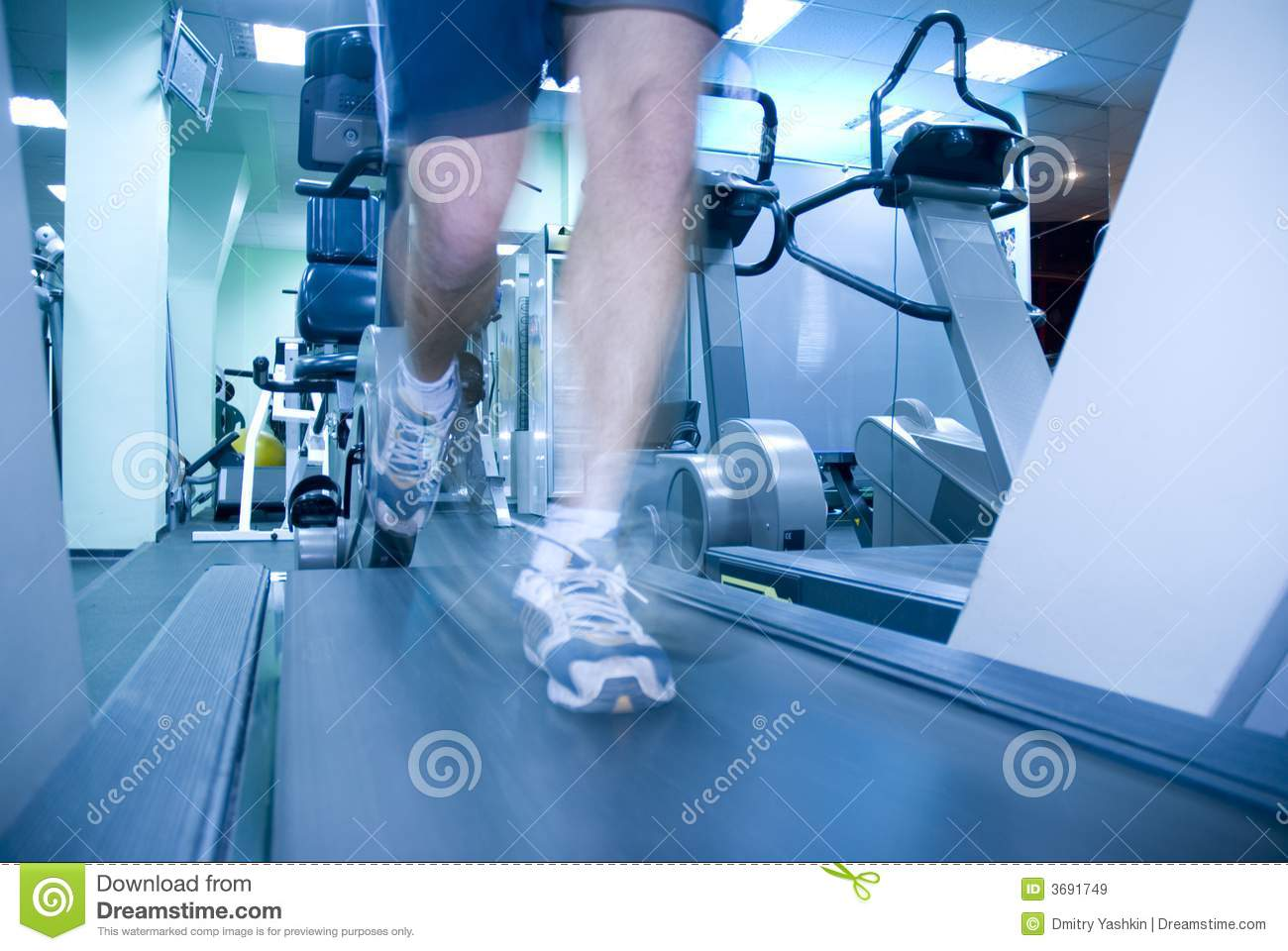 Download Man in fitness club stock image. Image of adult, male - 3691749