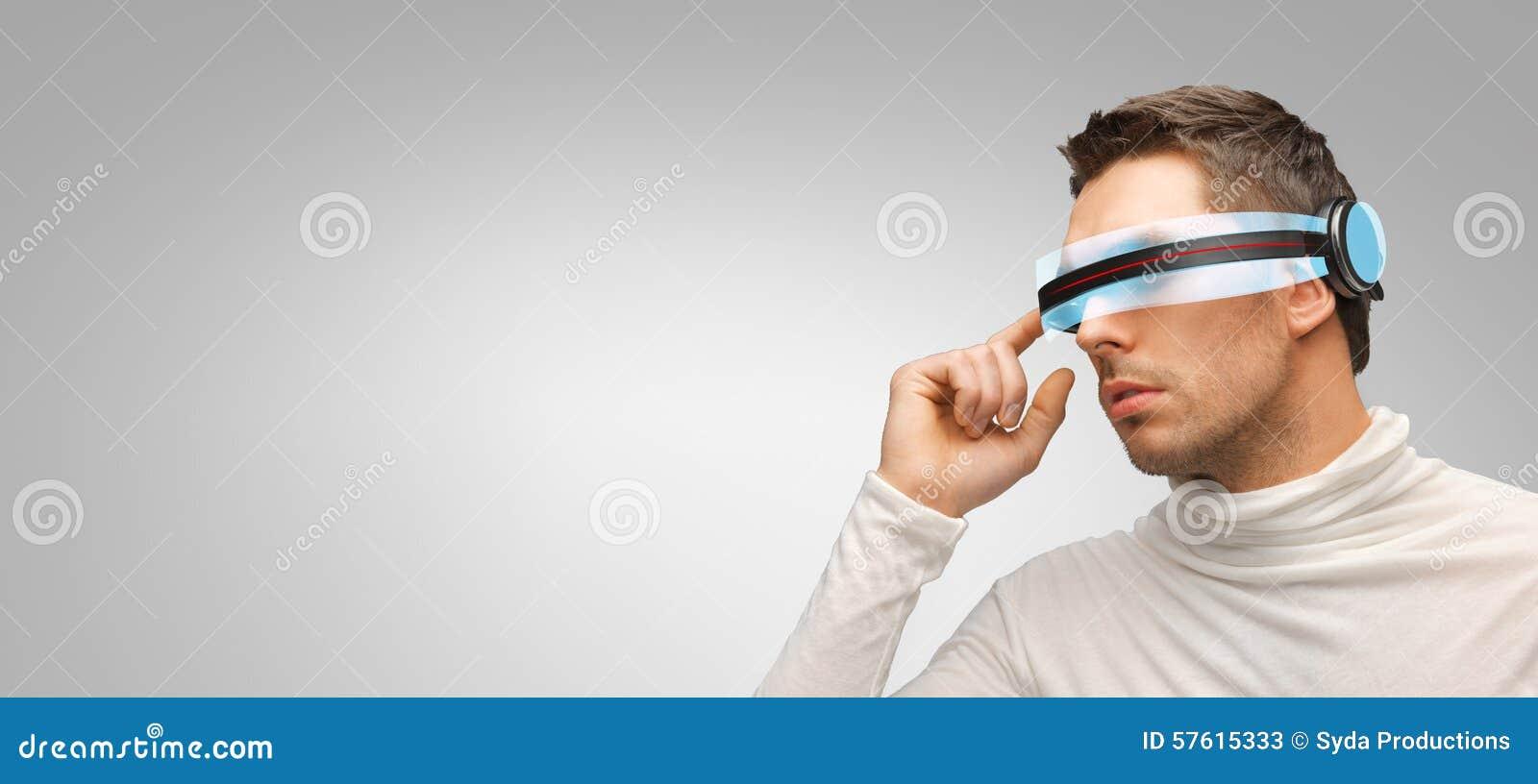 S Futuristic Glasses