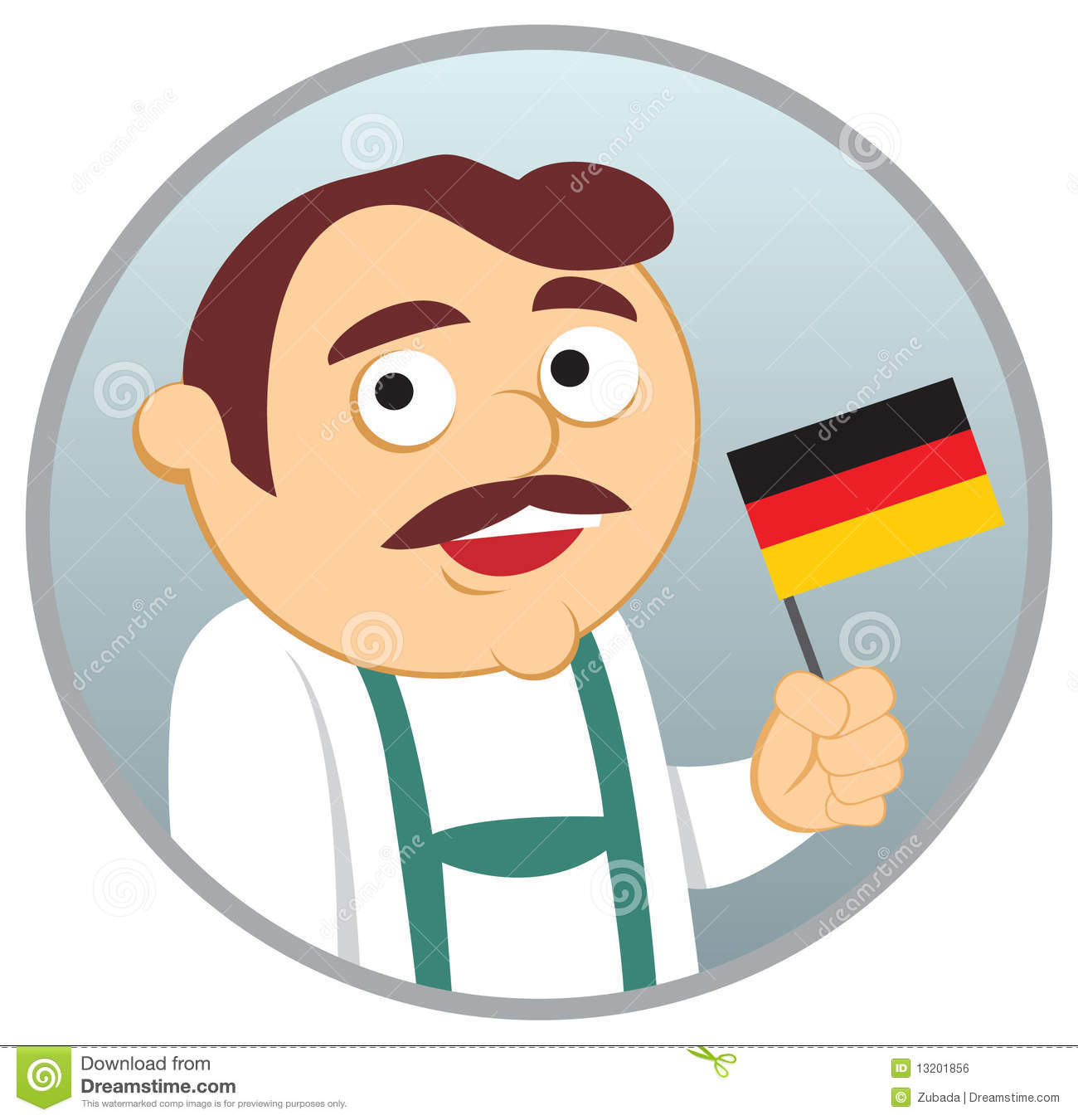 Royalty Free Stock Image: Man from Germany