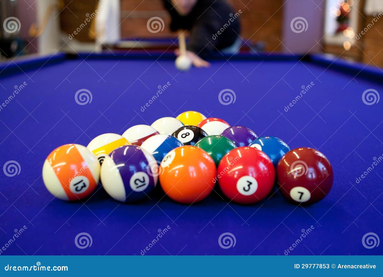Pool Hall Billiards Stock Image Image Of Playing Hobby