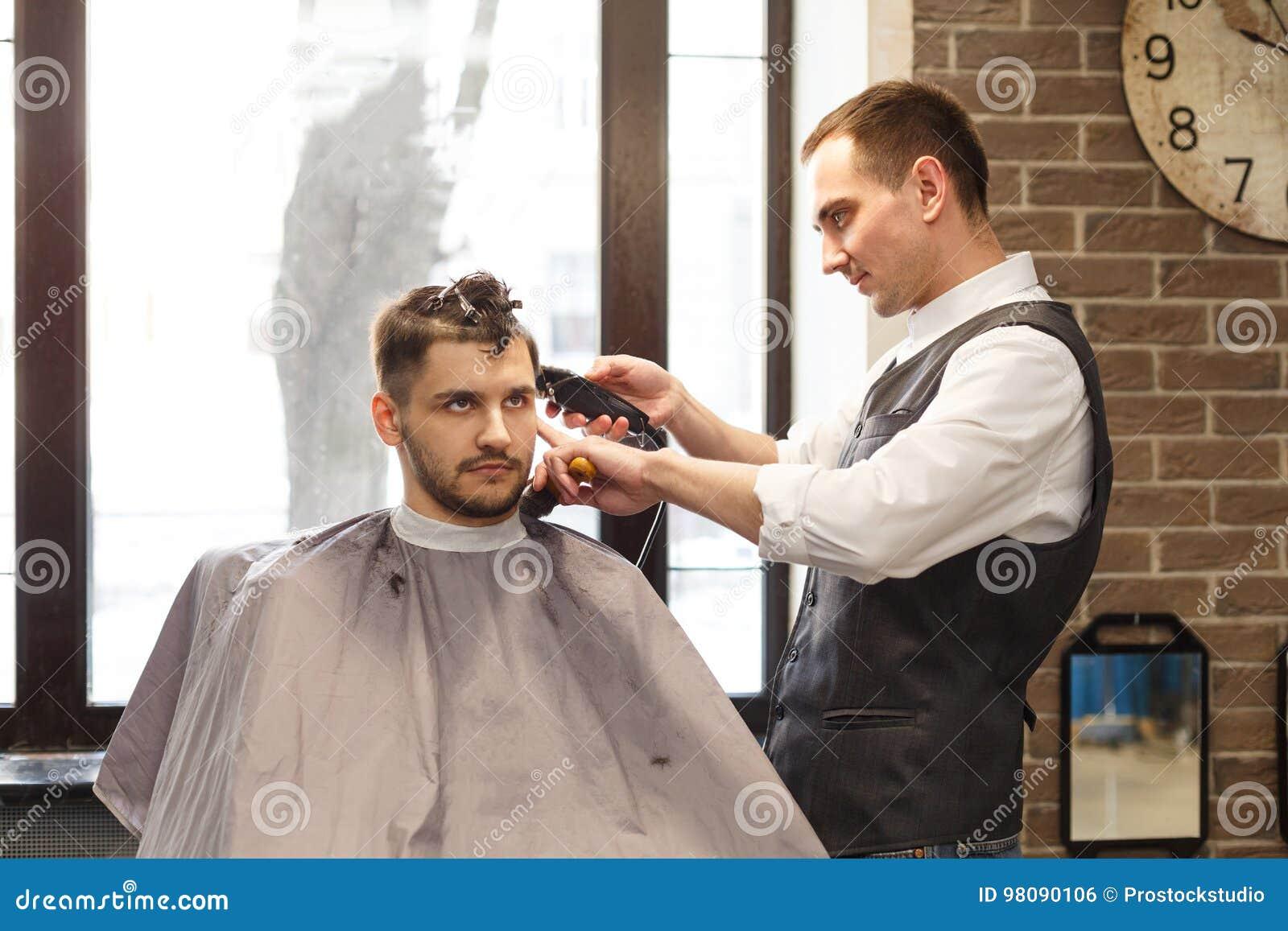 Getting A Haircut 44