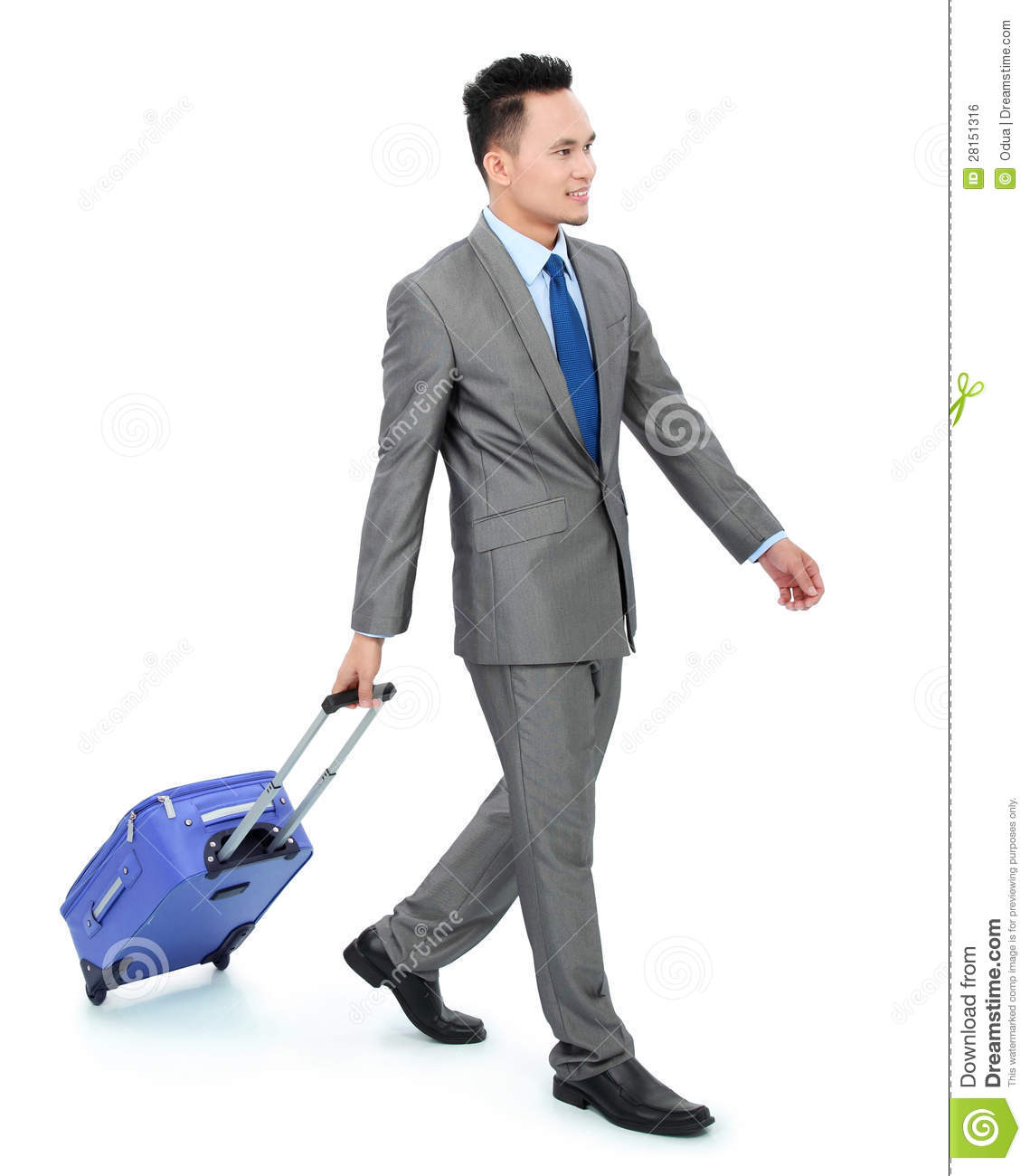 Man Going On A Business Trip Royalty Free Stock Image - Image ...