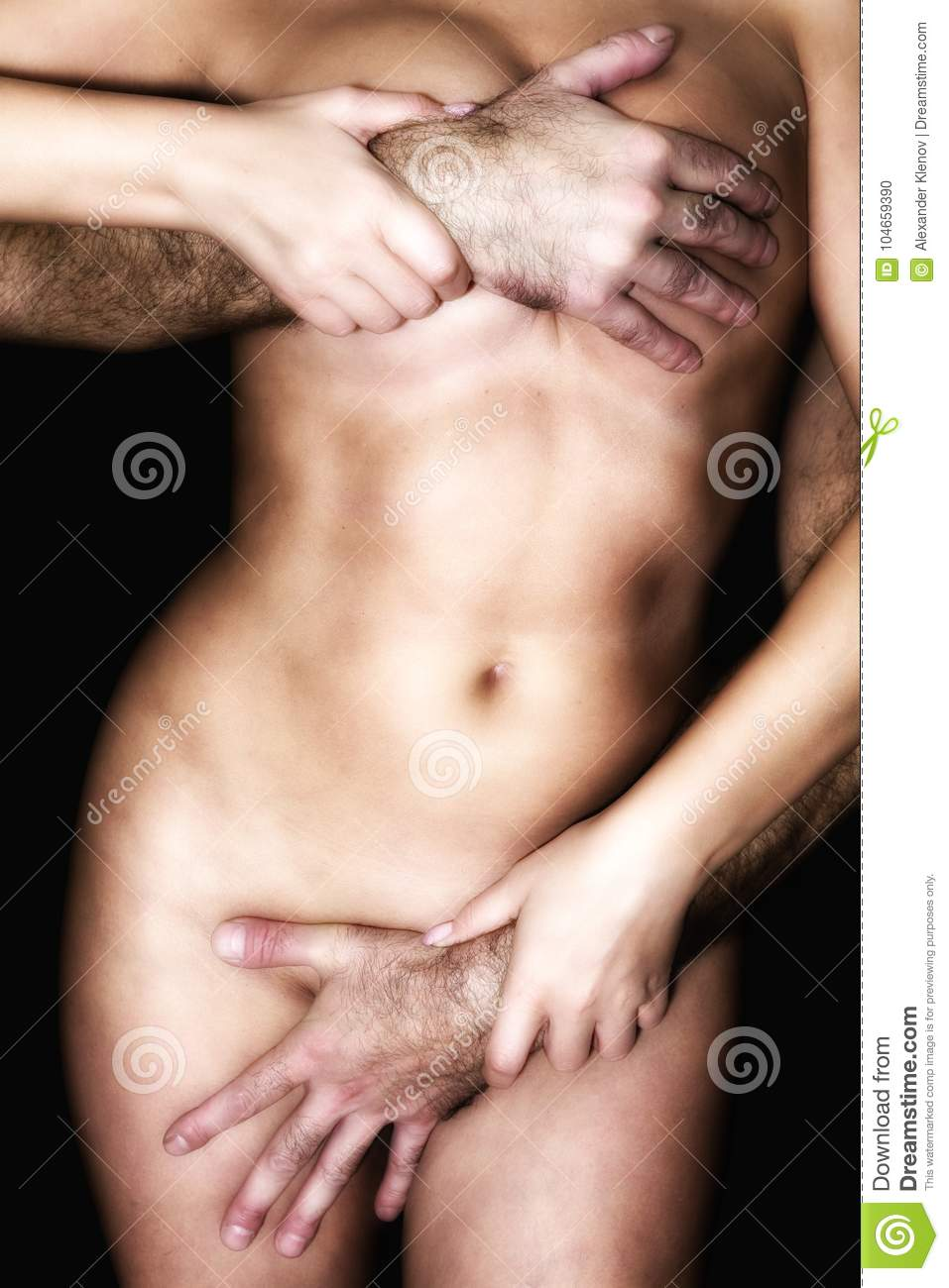 man-squeeze-naked-woman