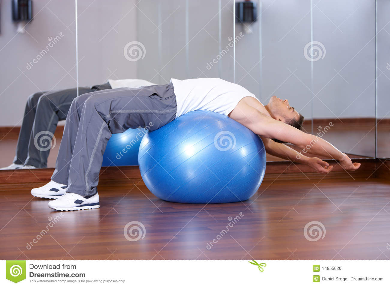 Download Man at the gym stock photo. Image of diet, people, attractive - 14855020