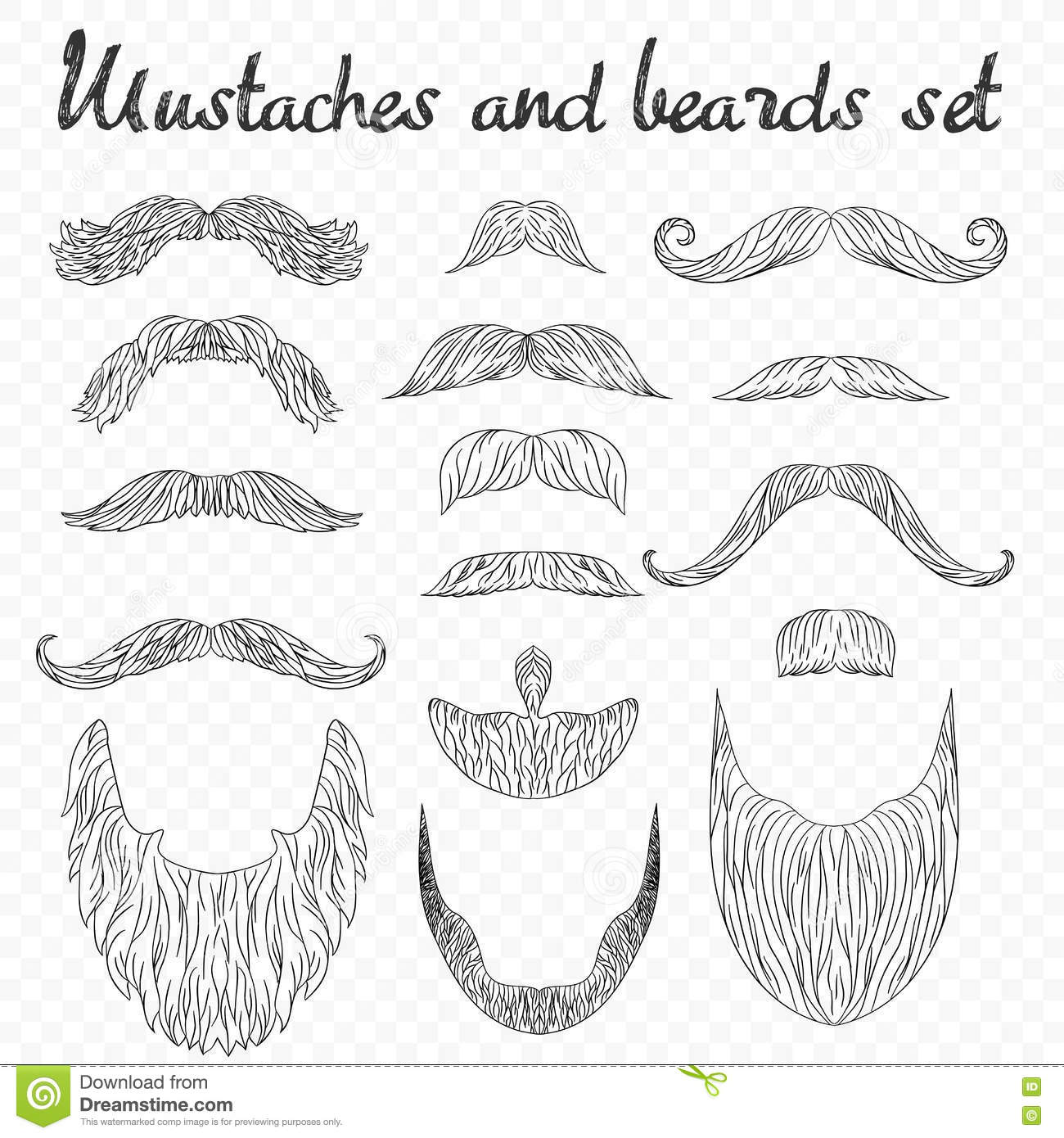 Drawing Lines Between Html Elements : Man hair mustache beards collection hipster high