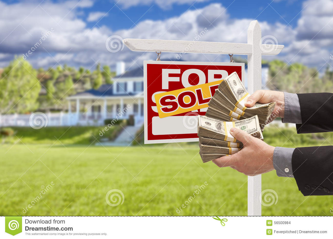 how to find what a house sold for