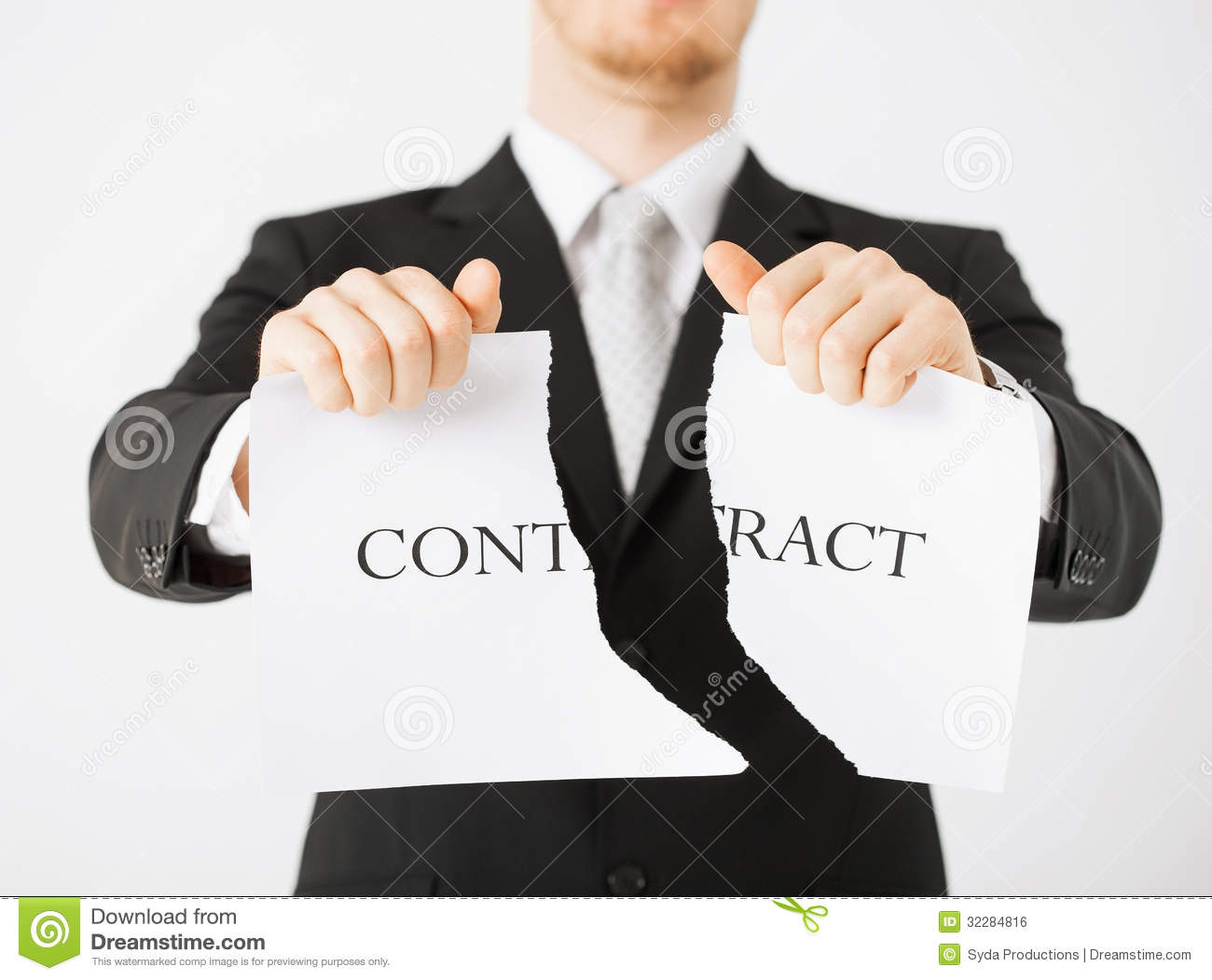 man hands tearing contract paper stock photo image 32284816