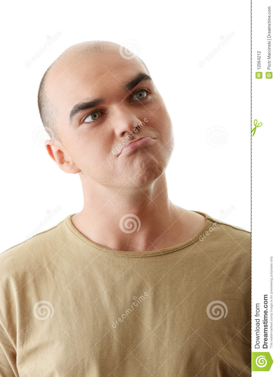 Man With Happy Facial Expression Stock Photography - Image ...