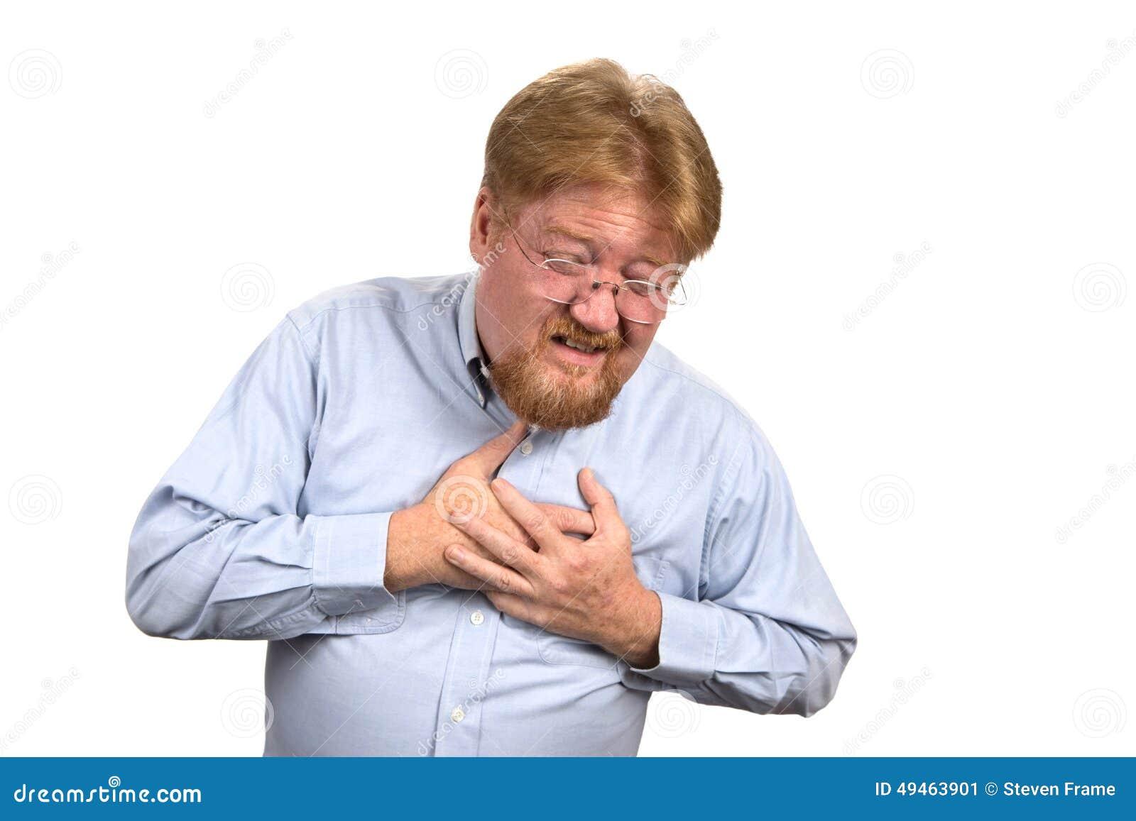 man having heart attack stock image. image of beard, expression