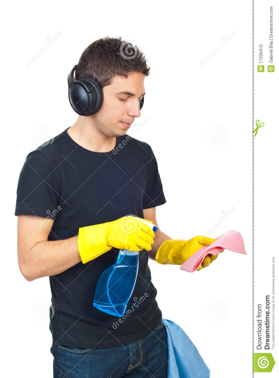 how to clean headphones properly