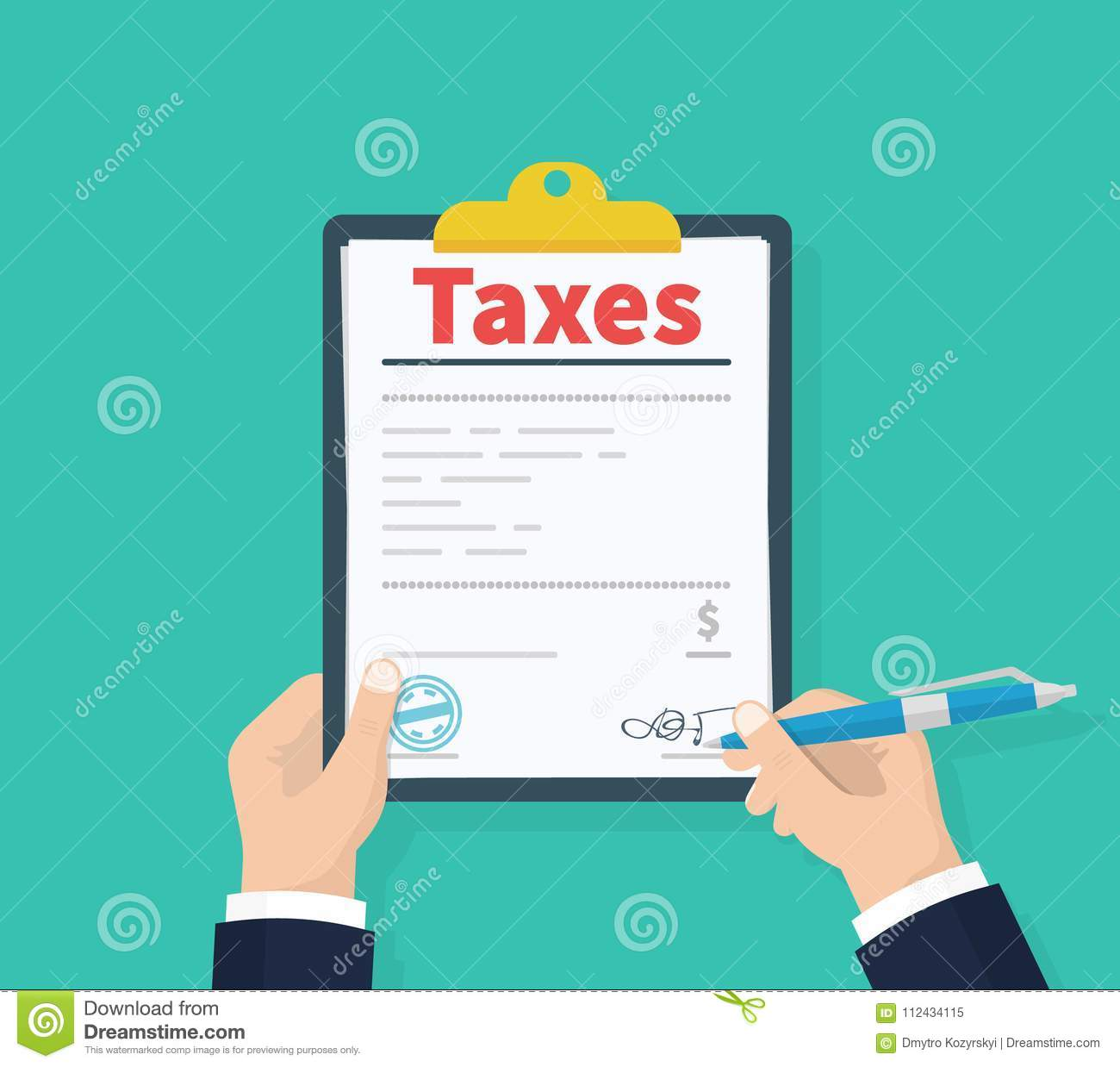 man hold tax payment government state taxes payment day