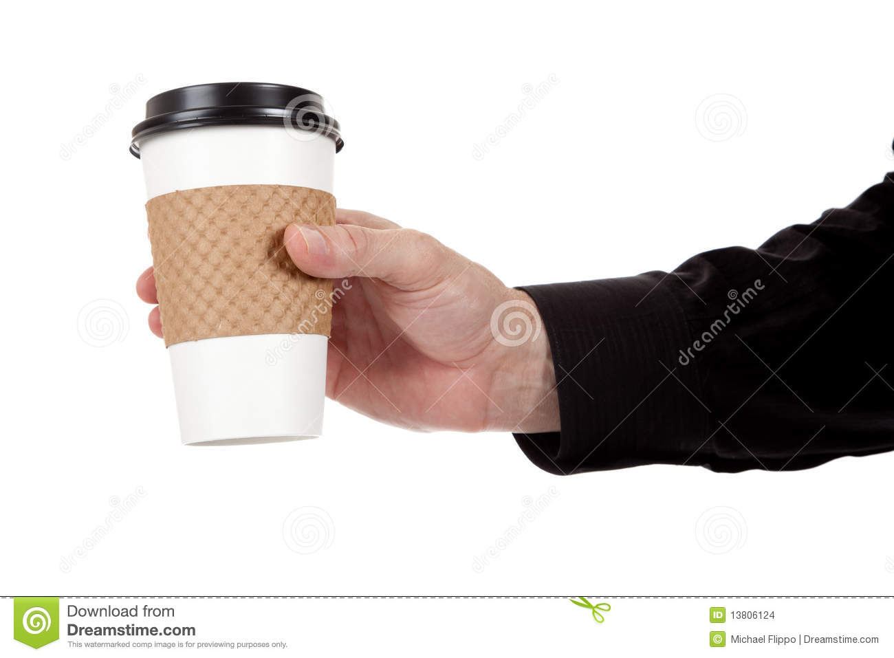 how to make a paper coffee cup