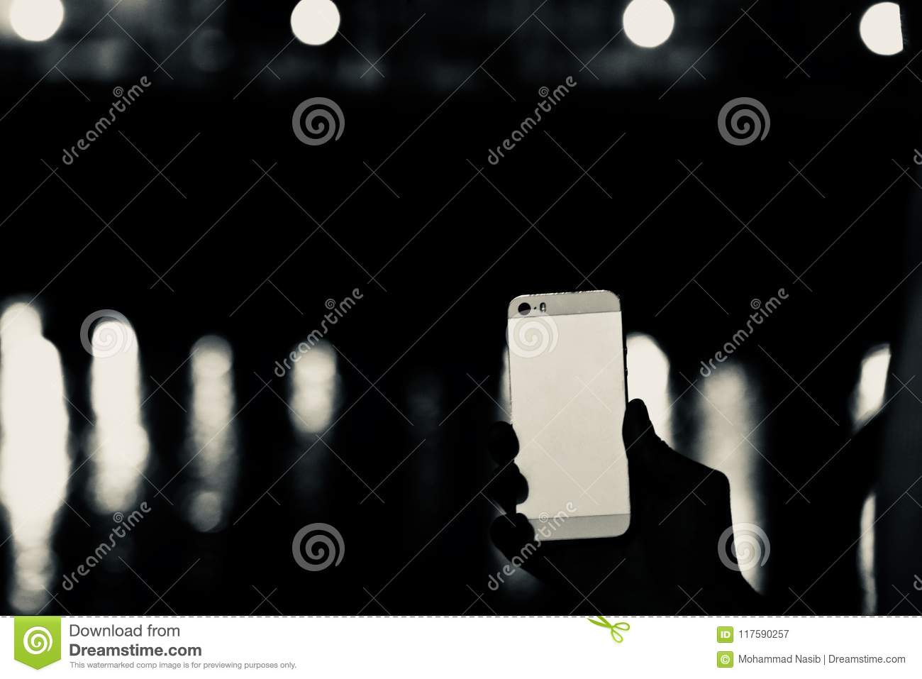Download Man Holding An Smartphone Unique Photograph Stock Image - Image of concept, blurry: 117590257