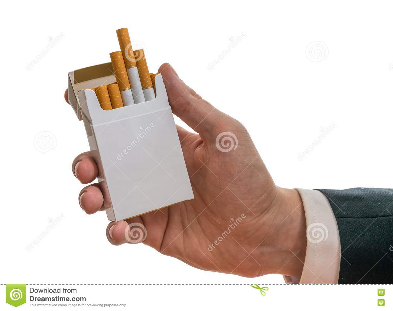 how to properly hold a cigarette