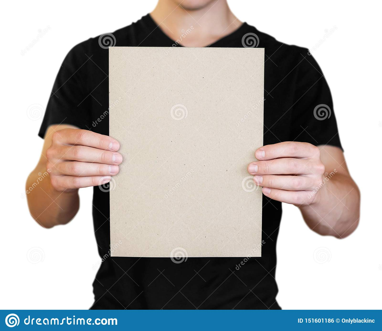 X39 Plain sheet white paper