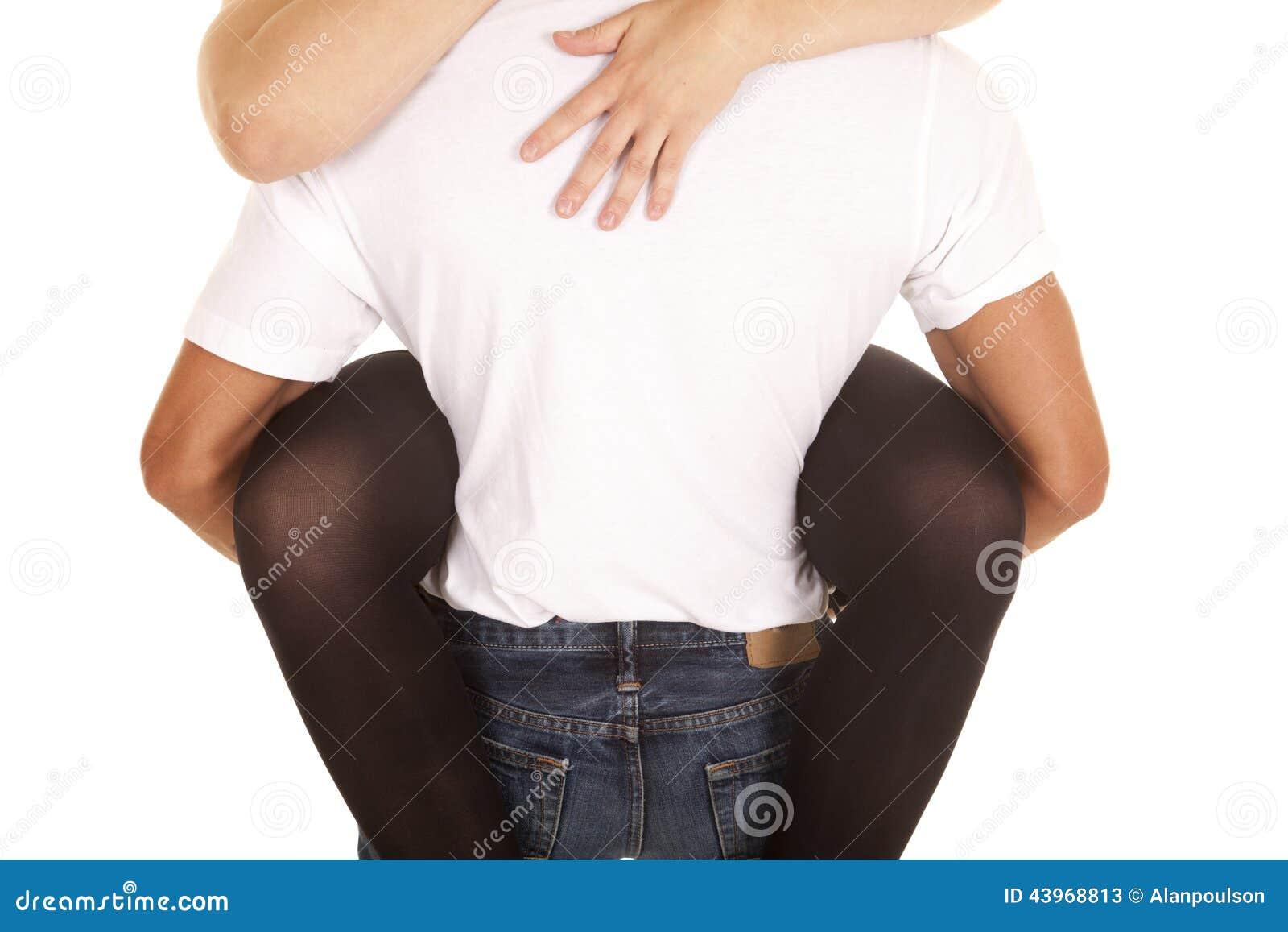With woman hips man Ideal Waist