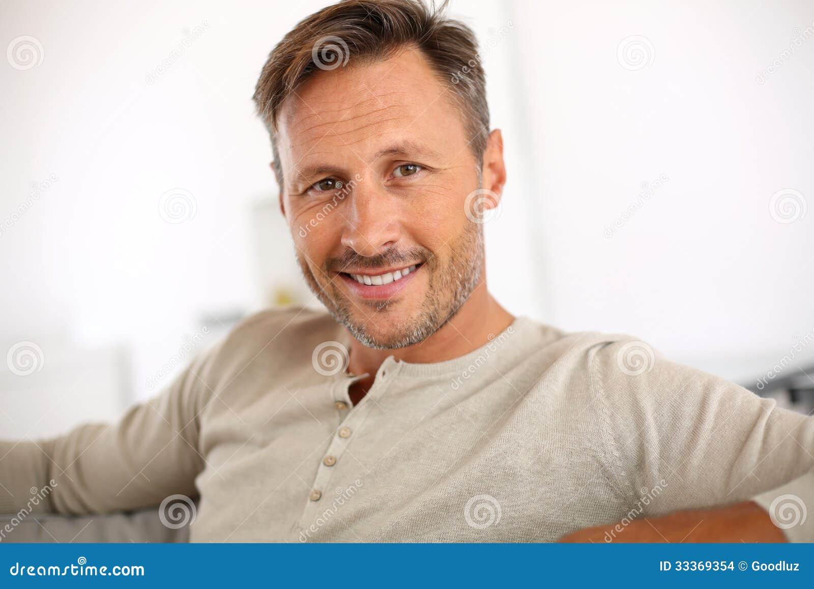 Man at 40 years old