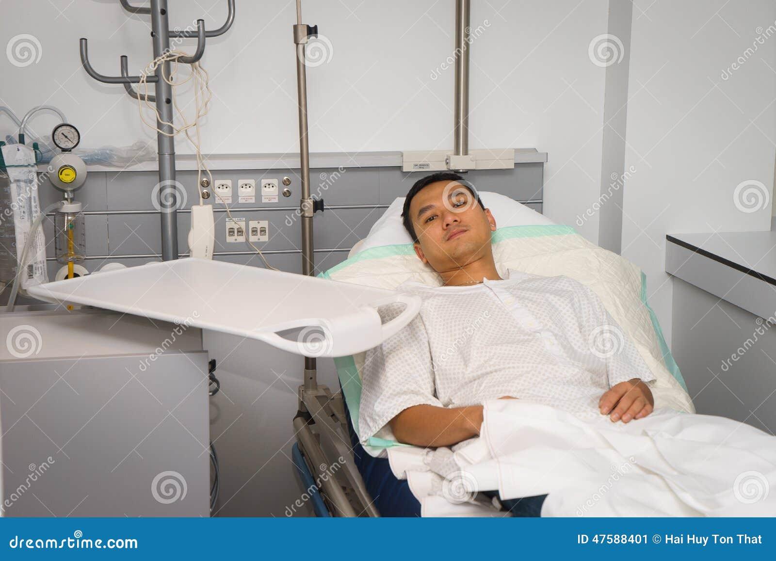 he is a patient man