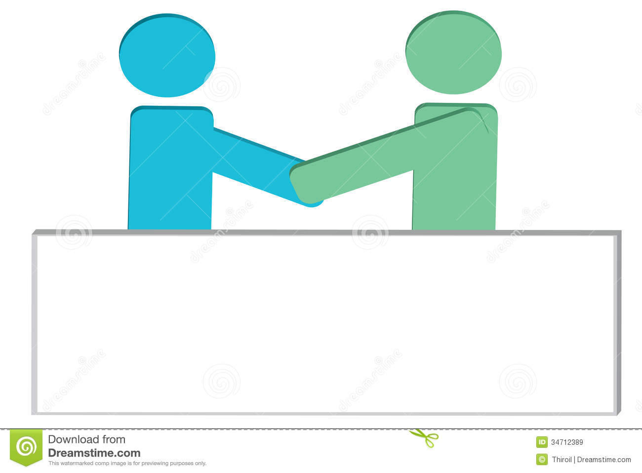 The Man Joint Venture. Royalty Free Stock Images - Image: 34712389