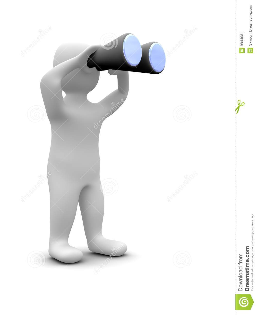 Observation Clipart Man-looking-binoculars-9844031.jpg