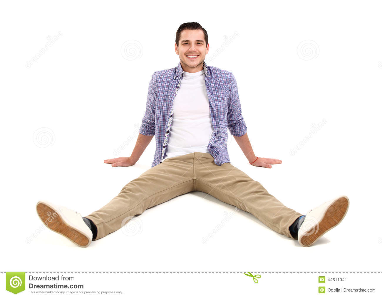 Man lying on floor stock photo image 44611041 for On the floor