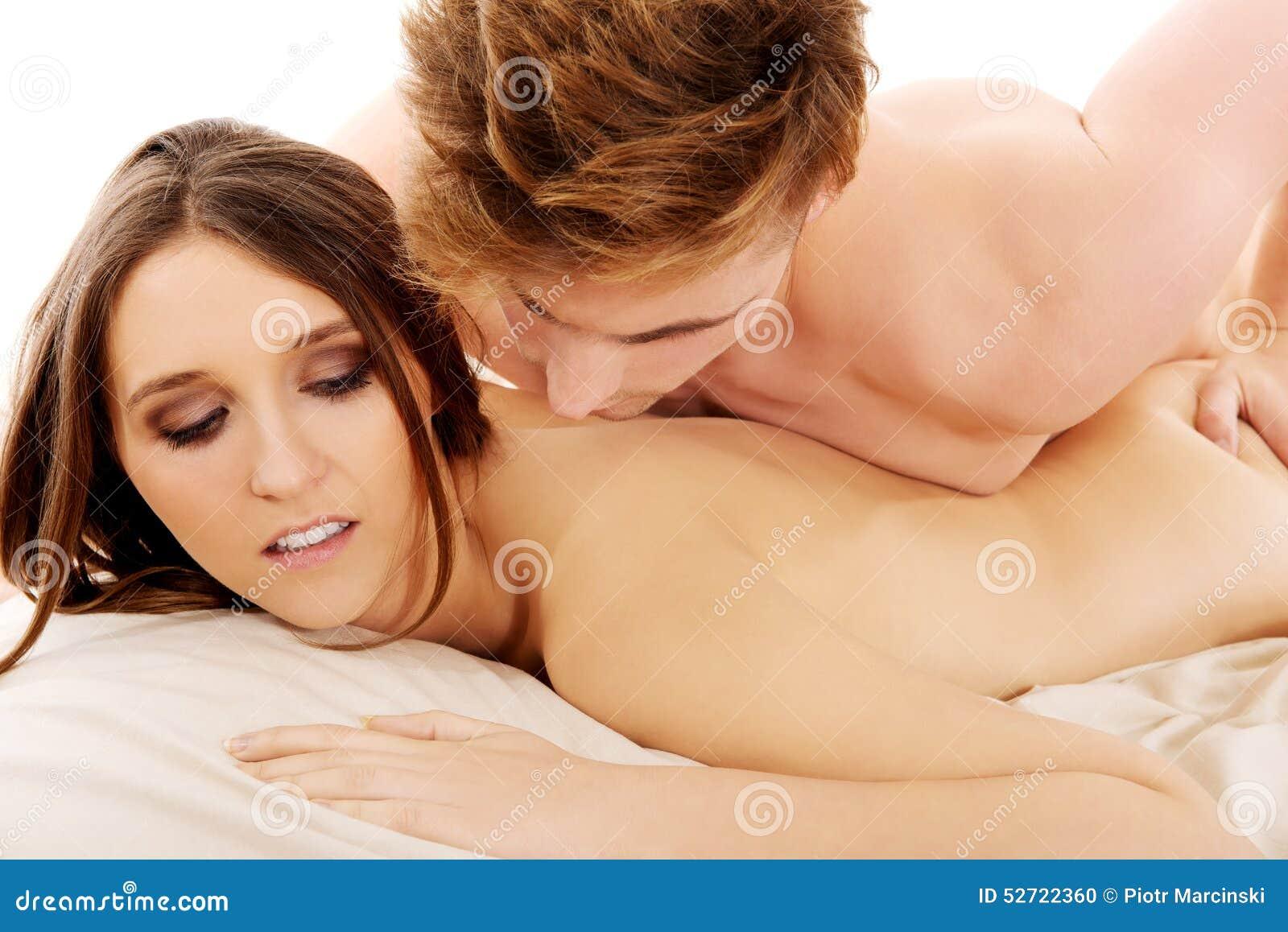 Men And Women In Bedroom Man Lying On Woman In Bedroom Stock Photo Image 52722360