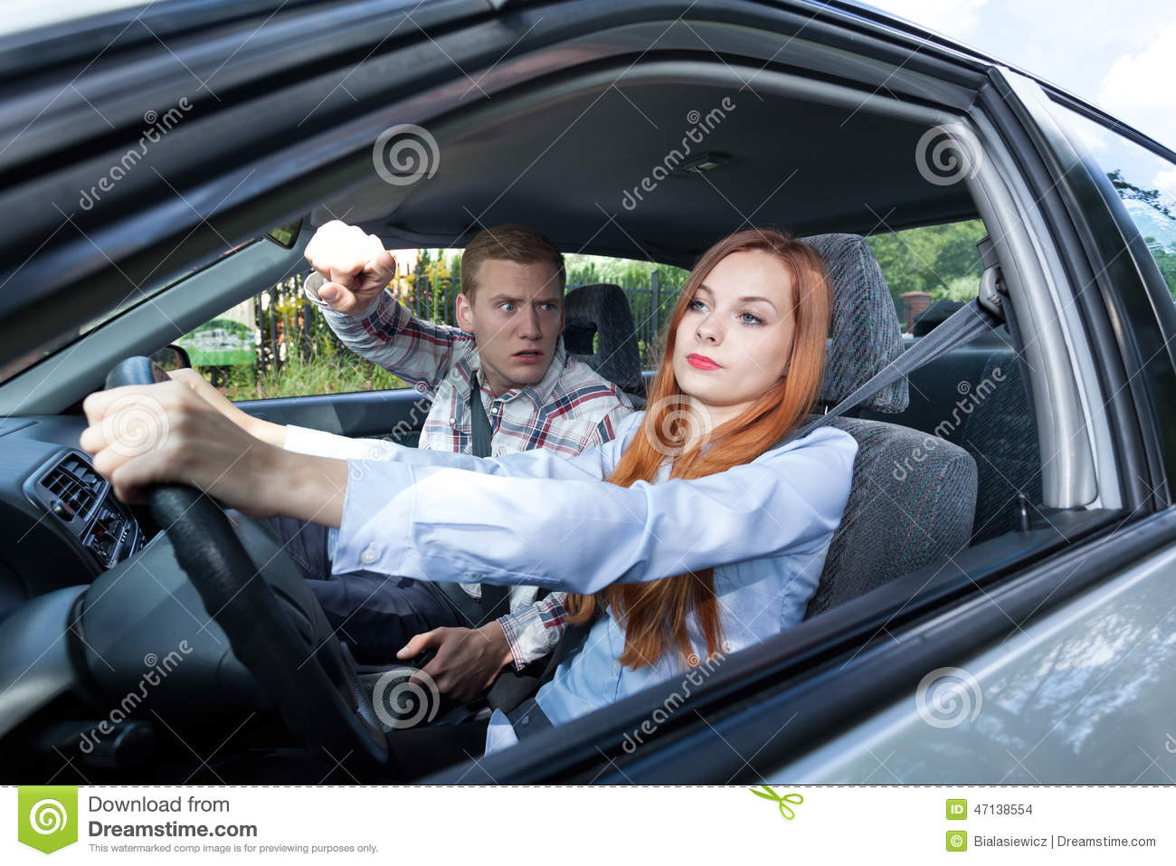 Men and Women Drivers: The Gender Divide