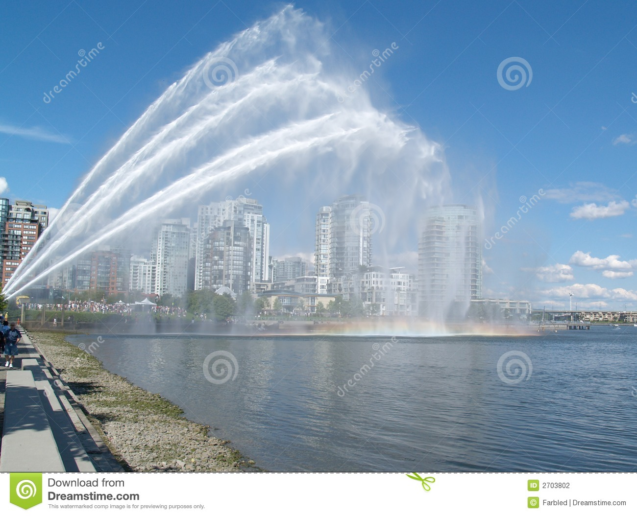 Man Made Rainbow Stock Photography  Image: 2703802