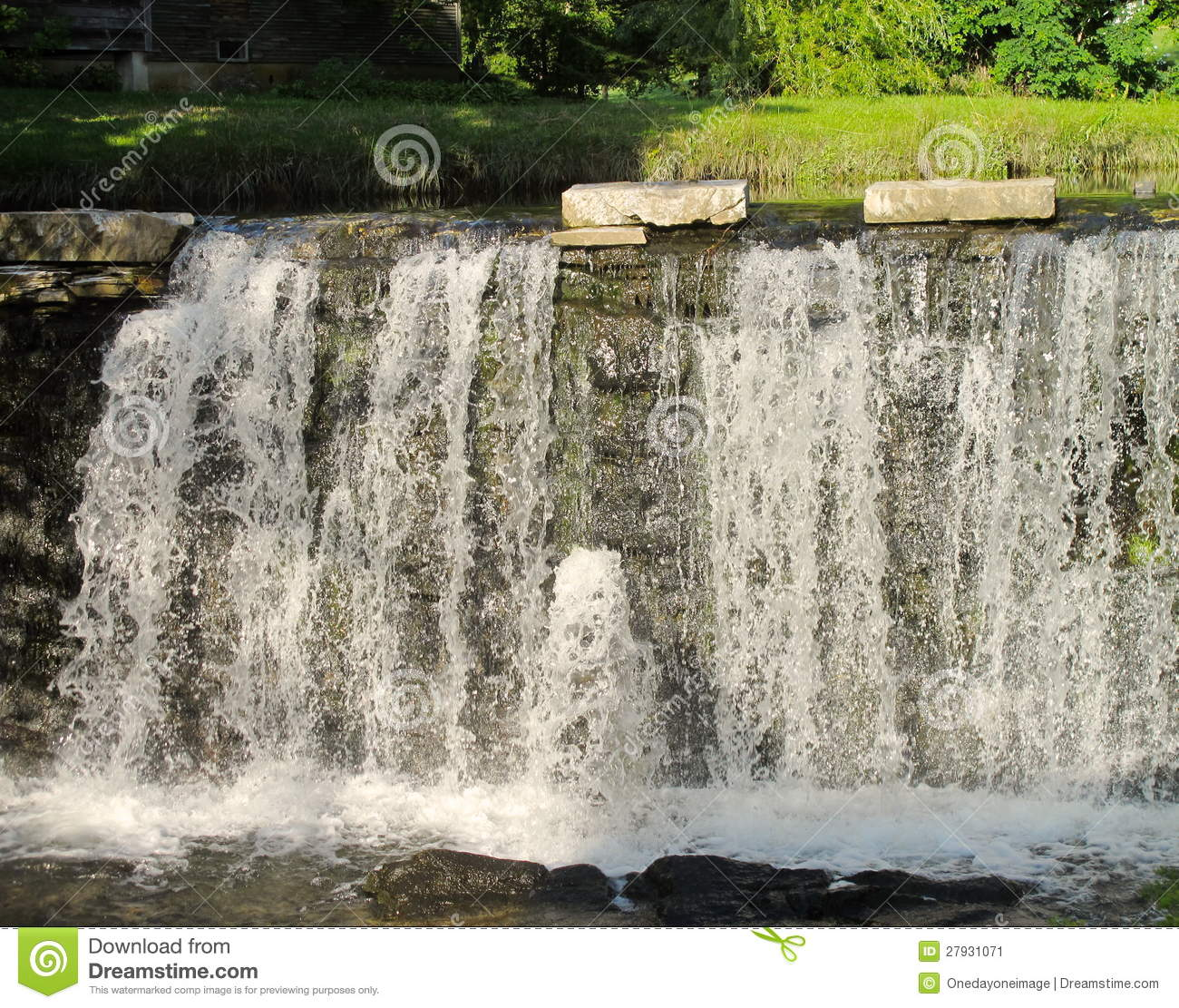 Man Made Waterfall Stock Image  Image: 27931071