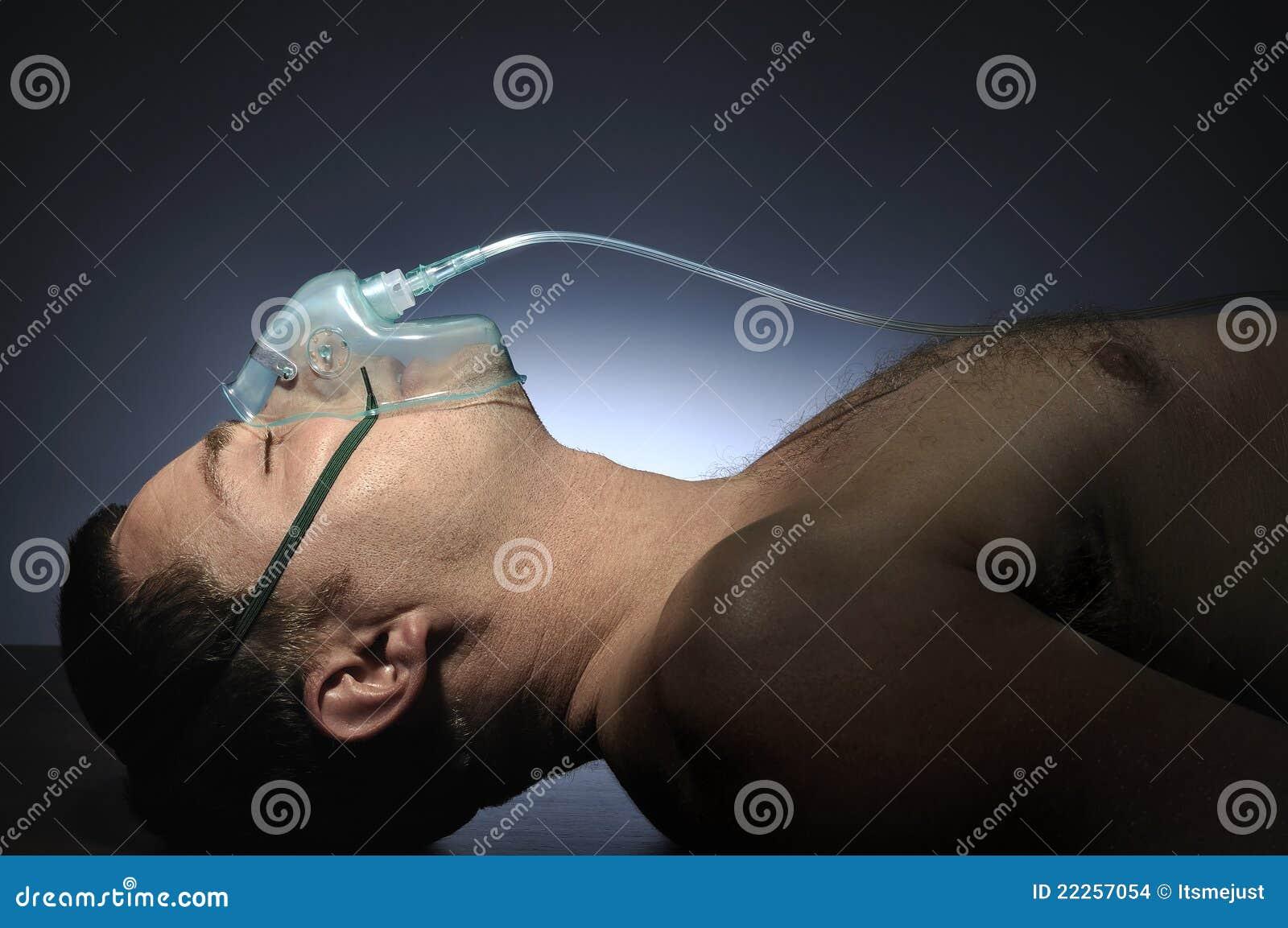 Man Mask Oxygen