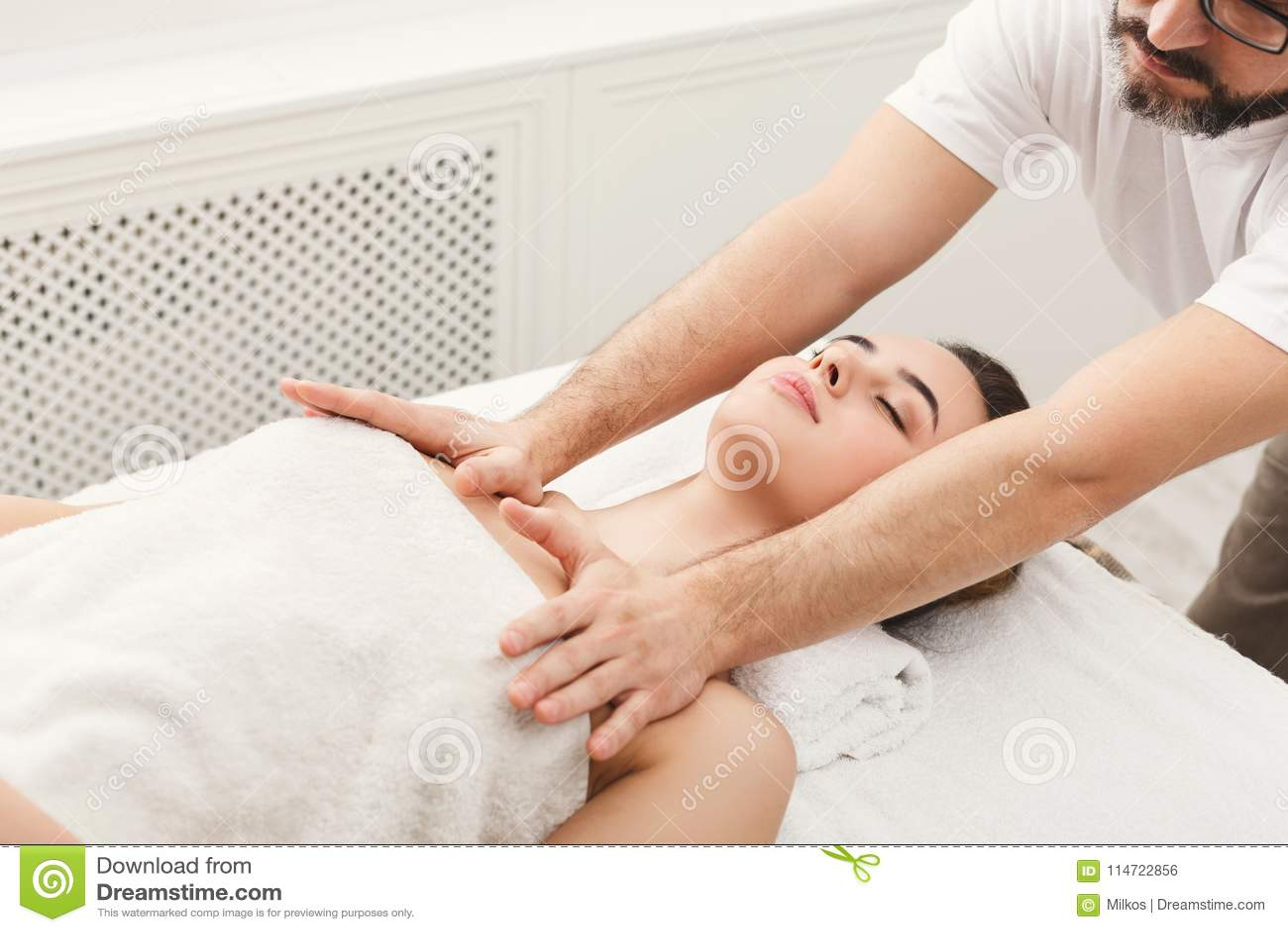 Adult female massage