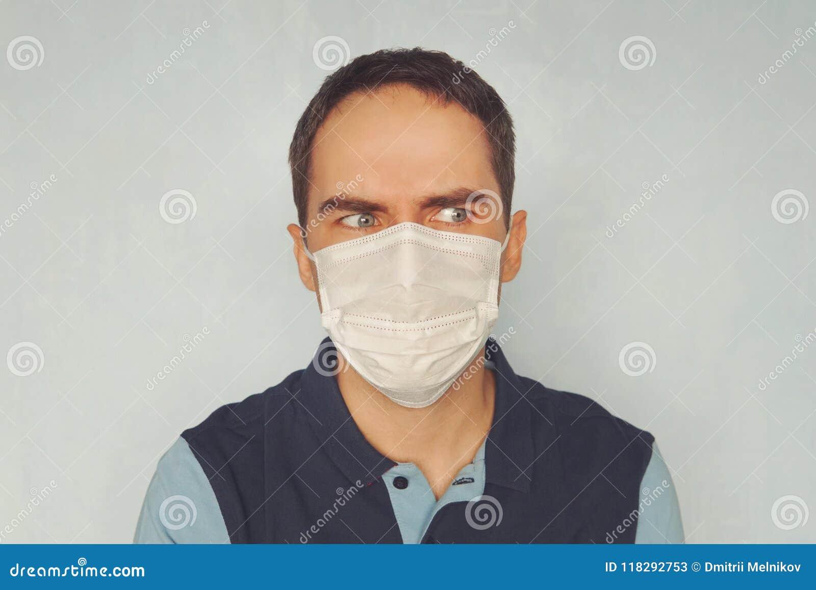 masque de protection microbes