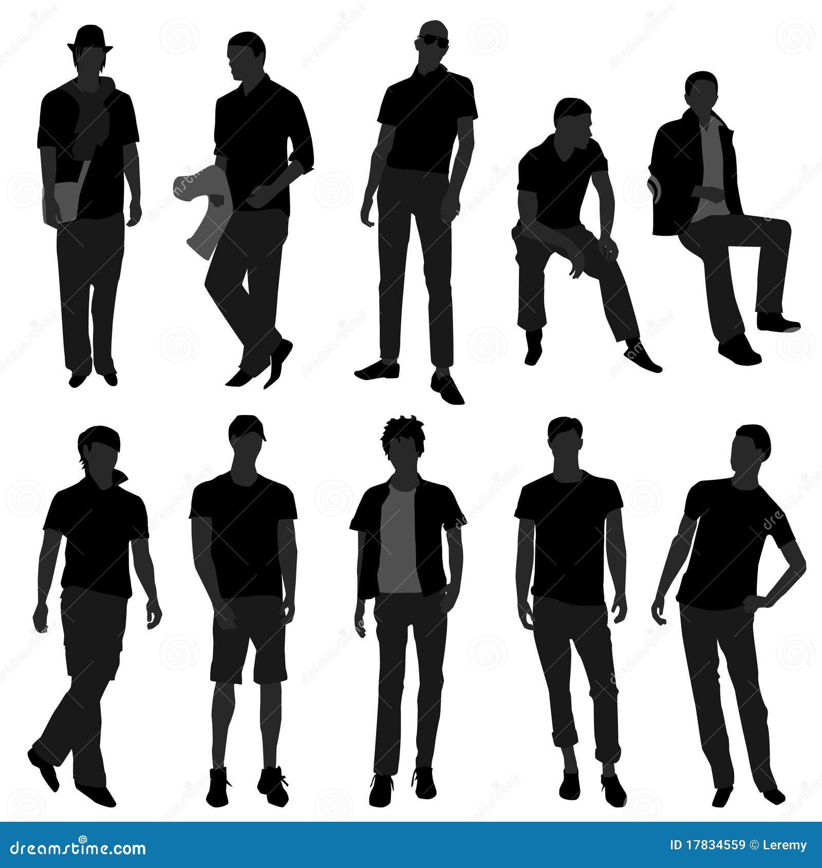Man Men Male Fashion Shopping Model