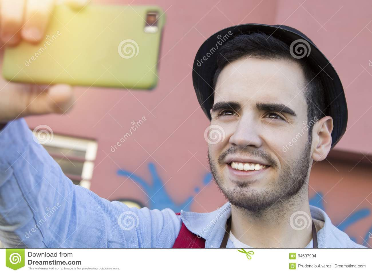 Man Modern Hipster Becoming Photos Stock Photo - Image of ...