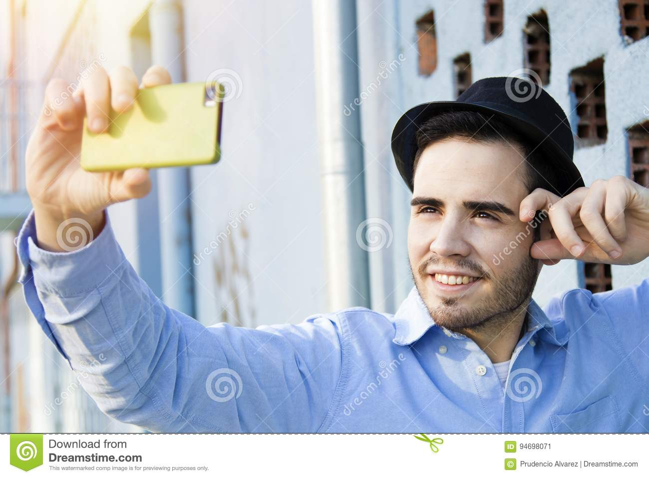 Man Modern Hipster Becoming Photos Stock Image - Image of ...