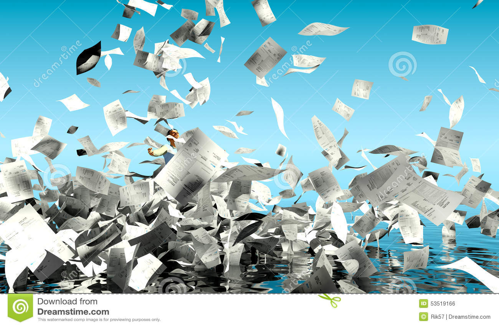 overloaded paperwork stock illustrations – 230 overloaded paperwork