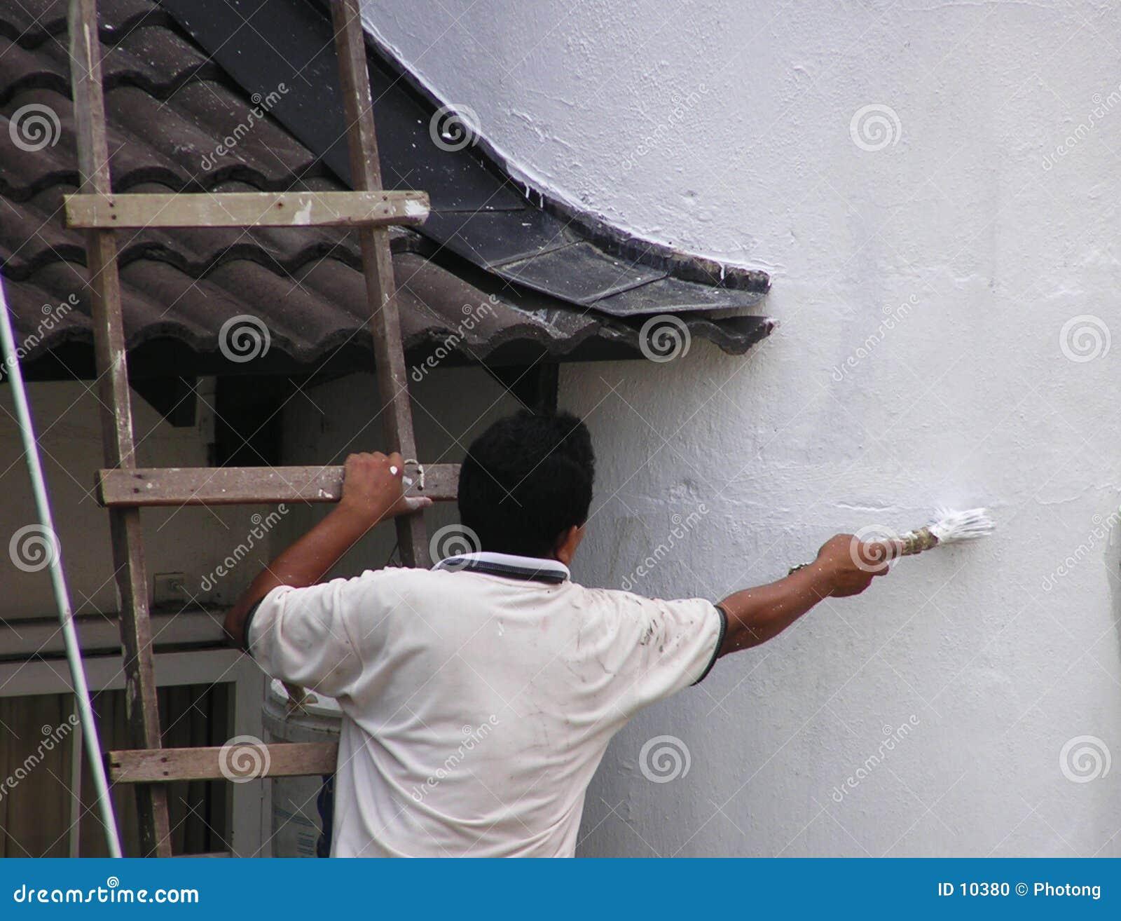 Man painting #2