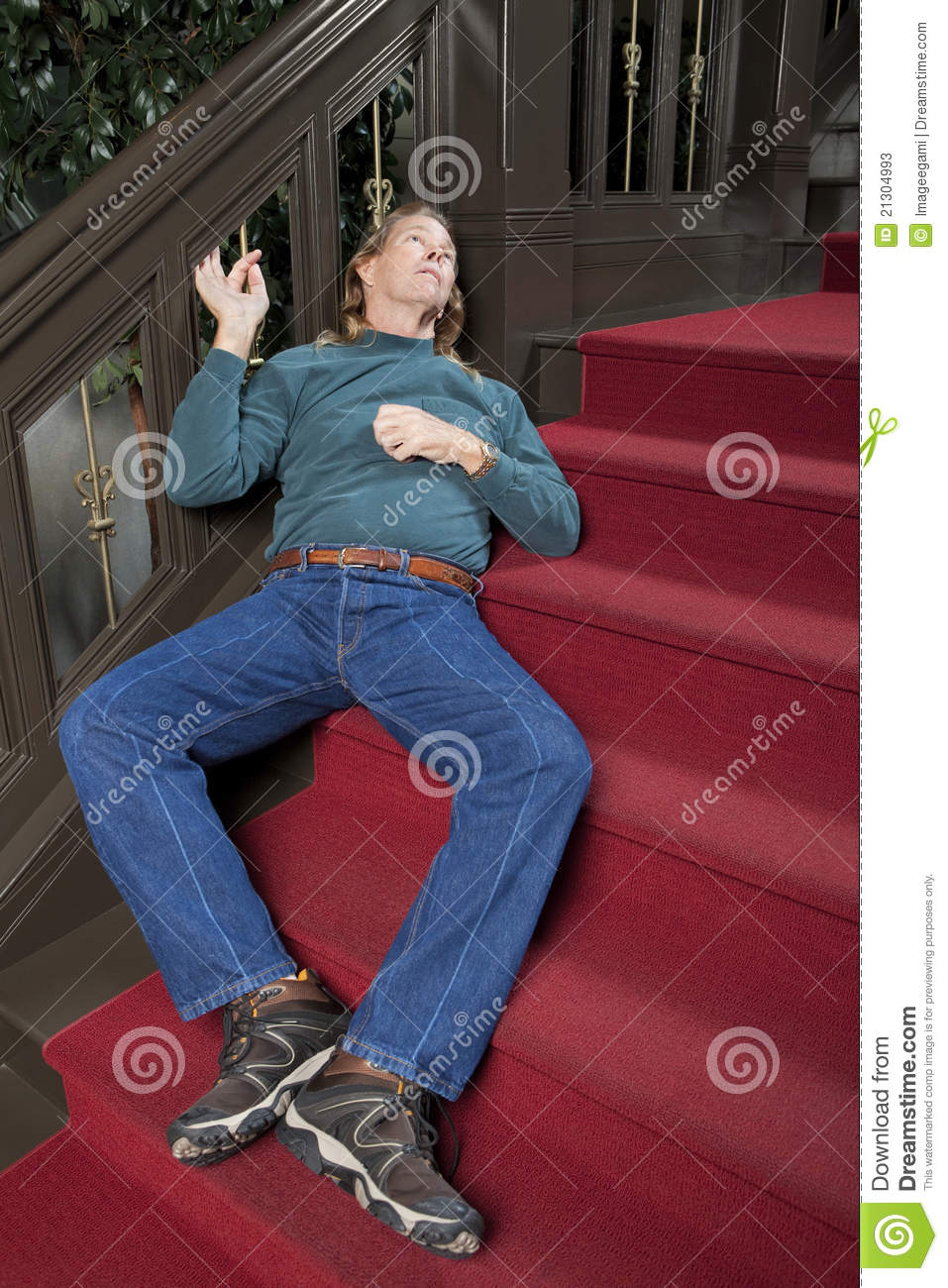 Man Passed Out Stock Photos Image 21304993