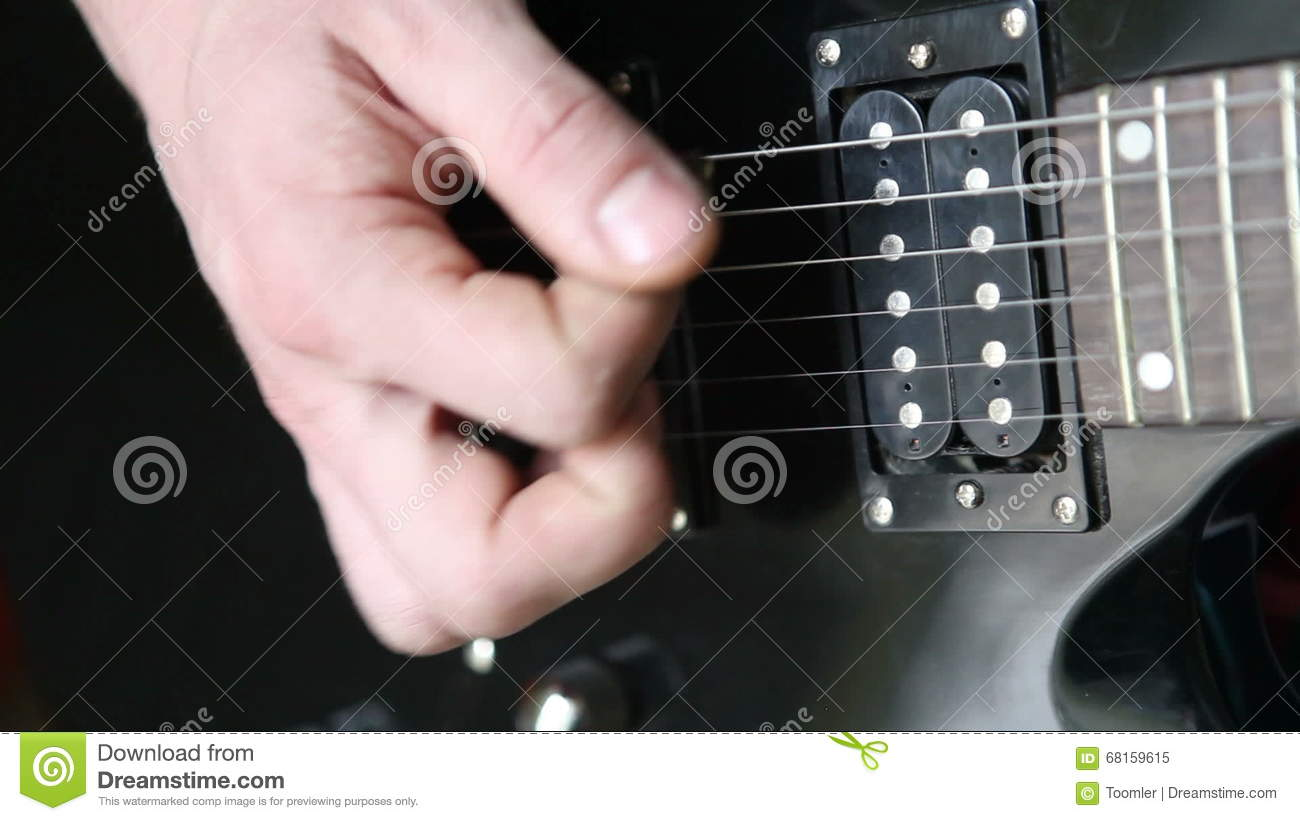 How to play the guitar by brute force
