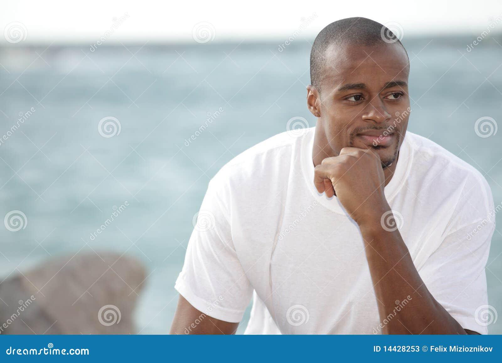 Man Pondering Stock Ph...
