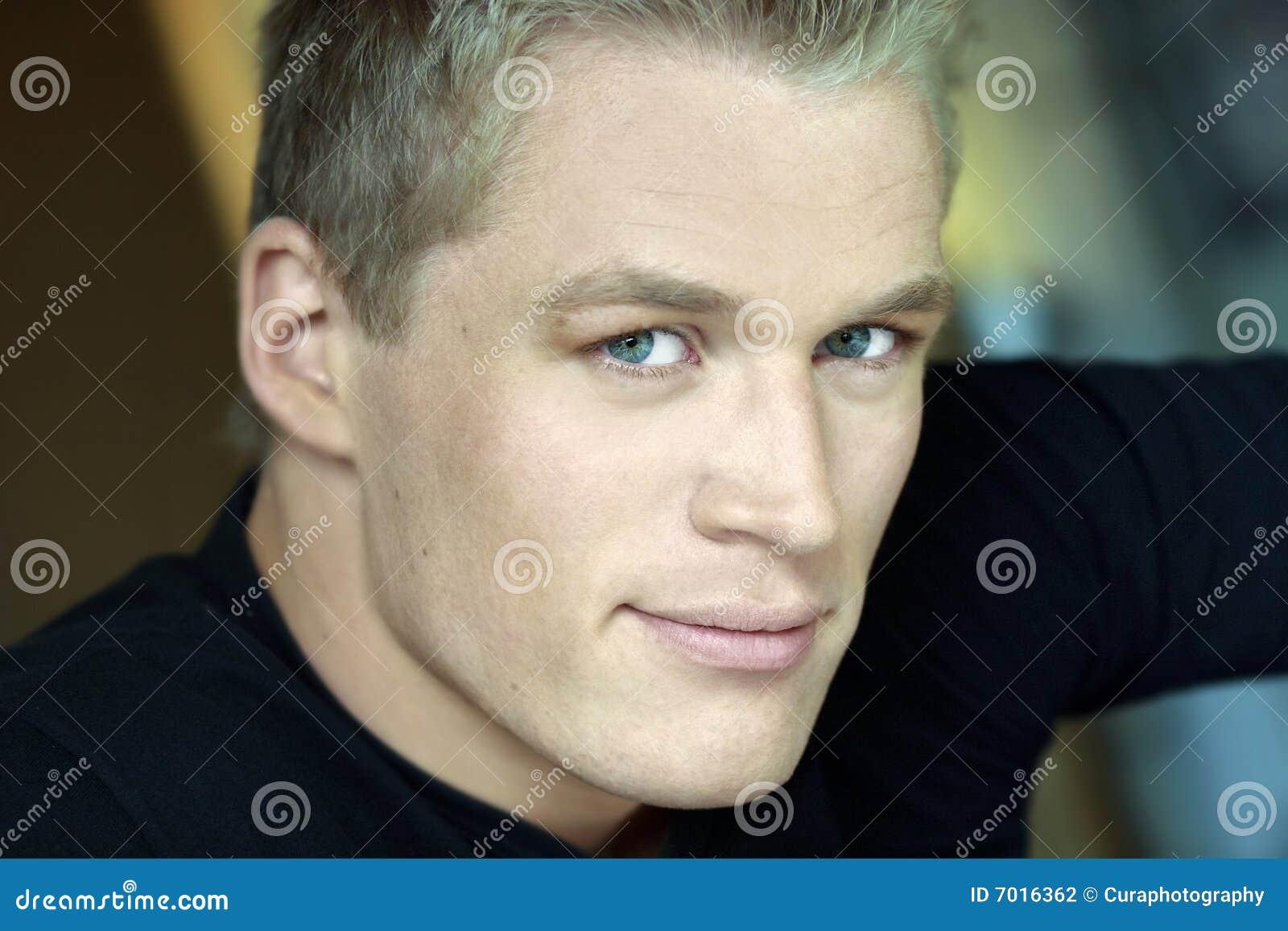 Man portrait young