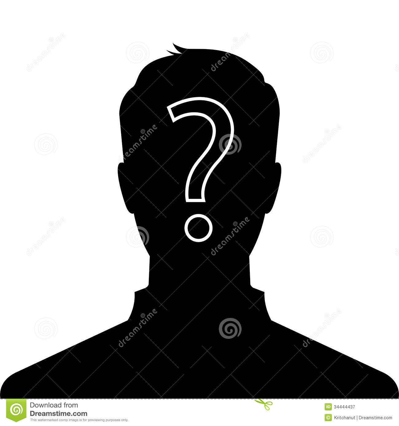 Man profile picture stock vector. Illustration of model ...