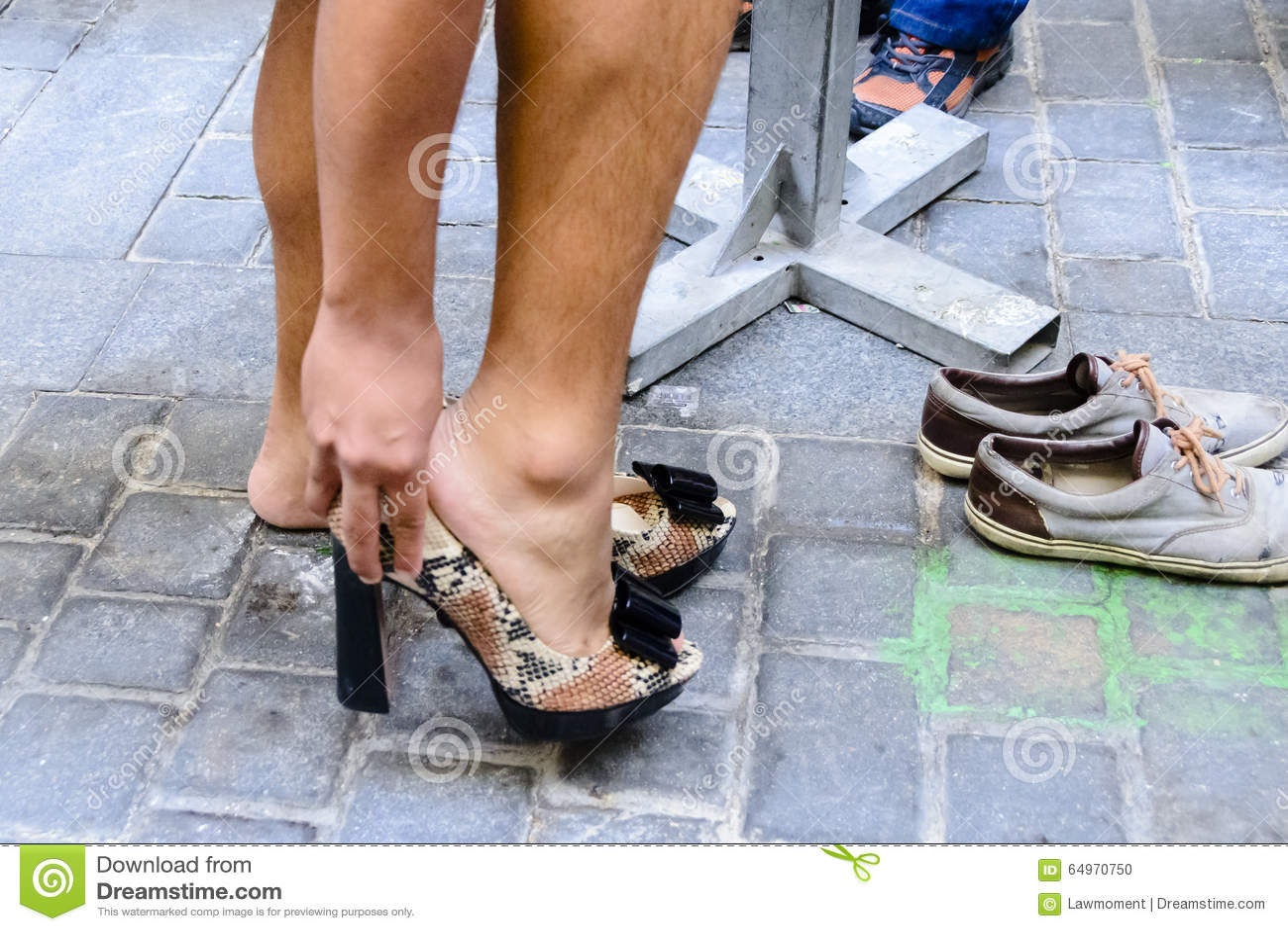 Lesbian feet jeans domination
