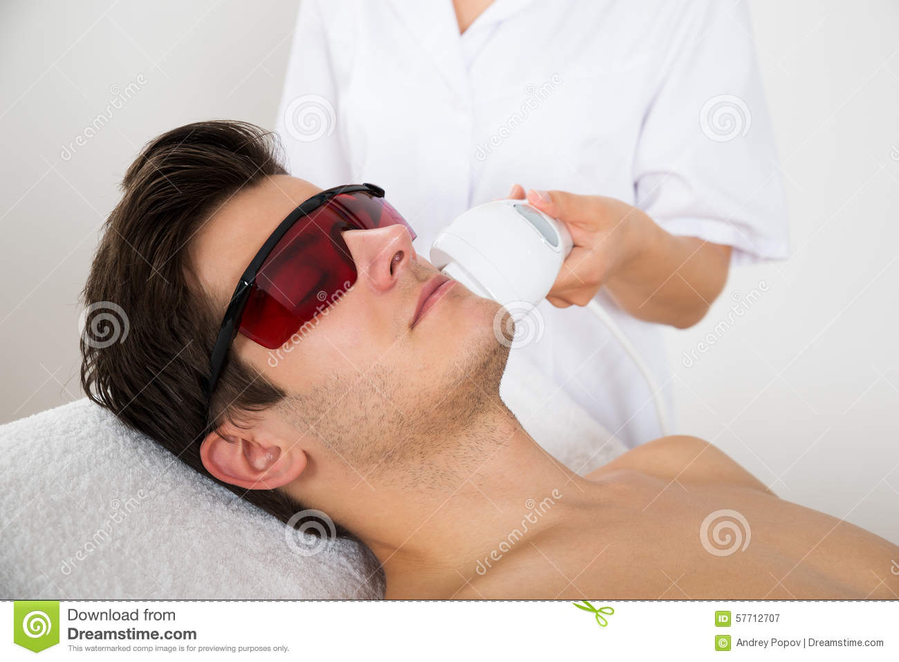 laser facial hair removal for men